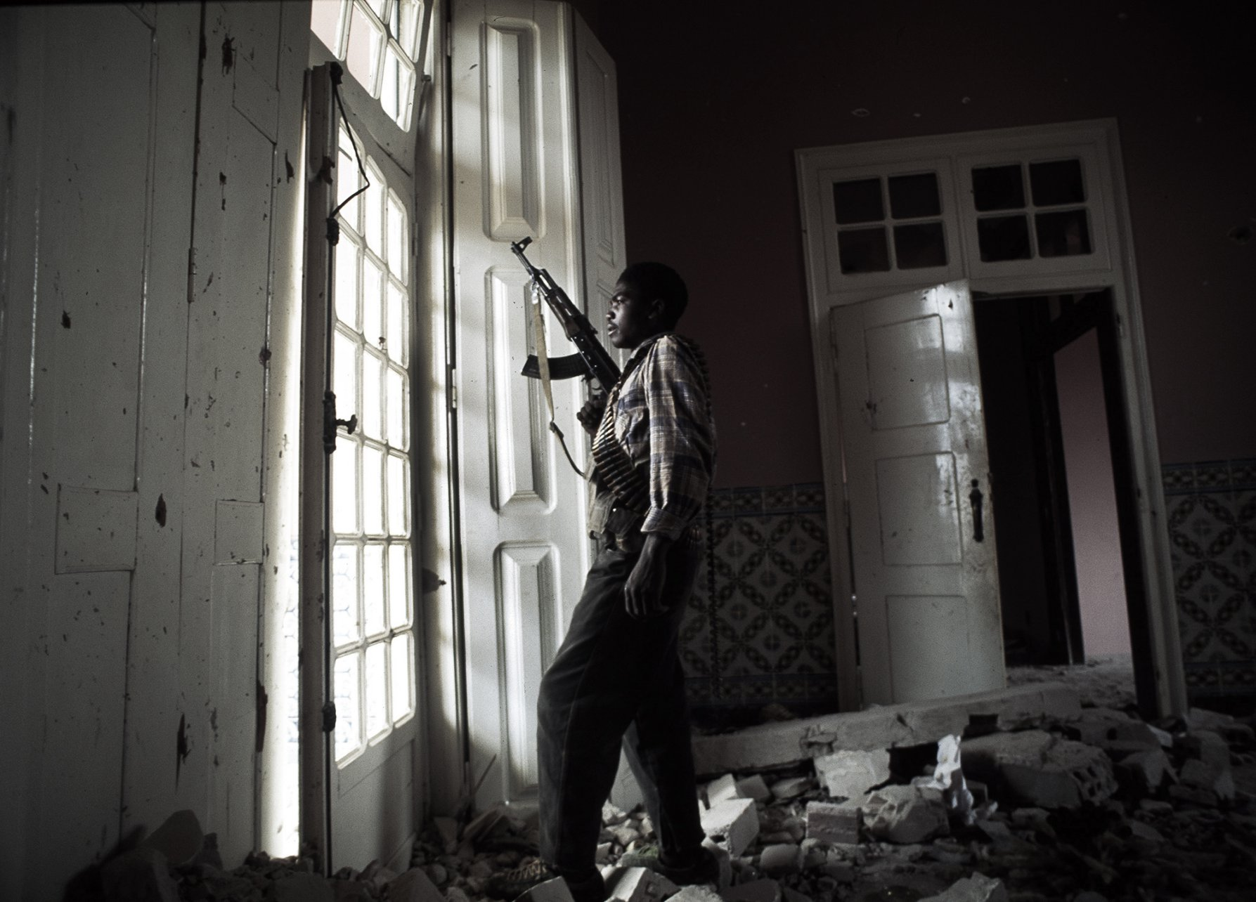 """Ceasefire"" Angola's brutal civil war. Quito, Angola 1993"