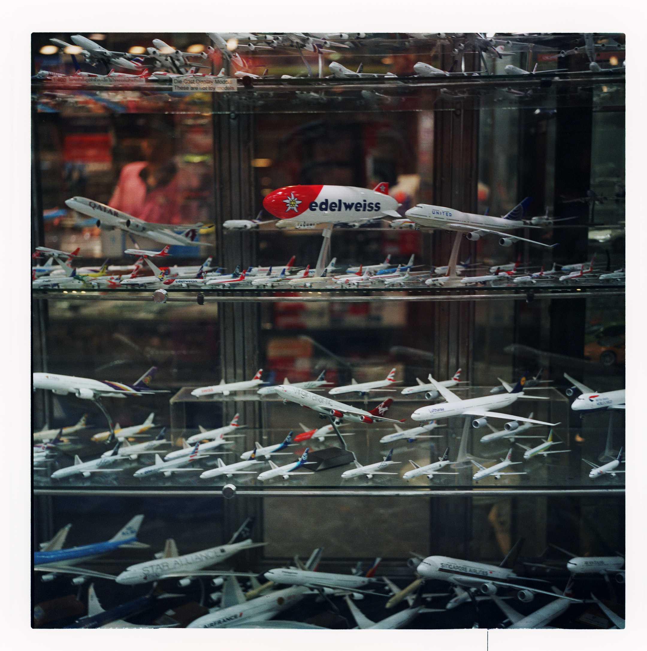 """Window Planes"" MBK, Shopping Centre. Bangkok, 2017"