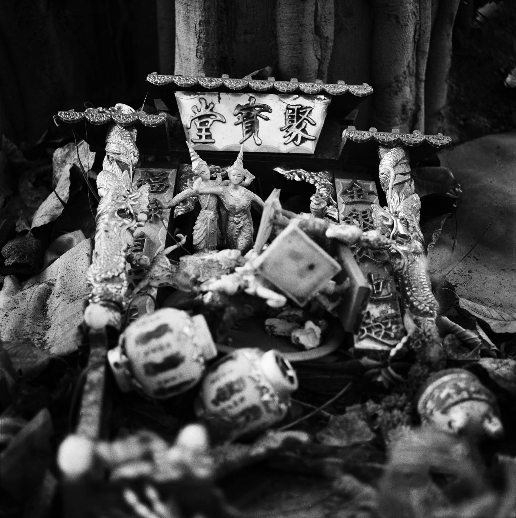 """""""Apsara Dances"""" Chinatown, Bangkok, 2012"""