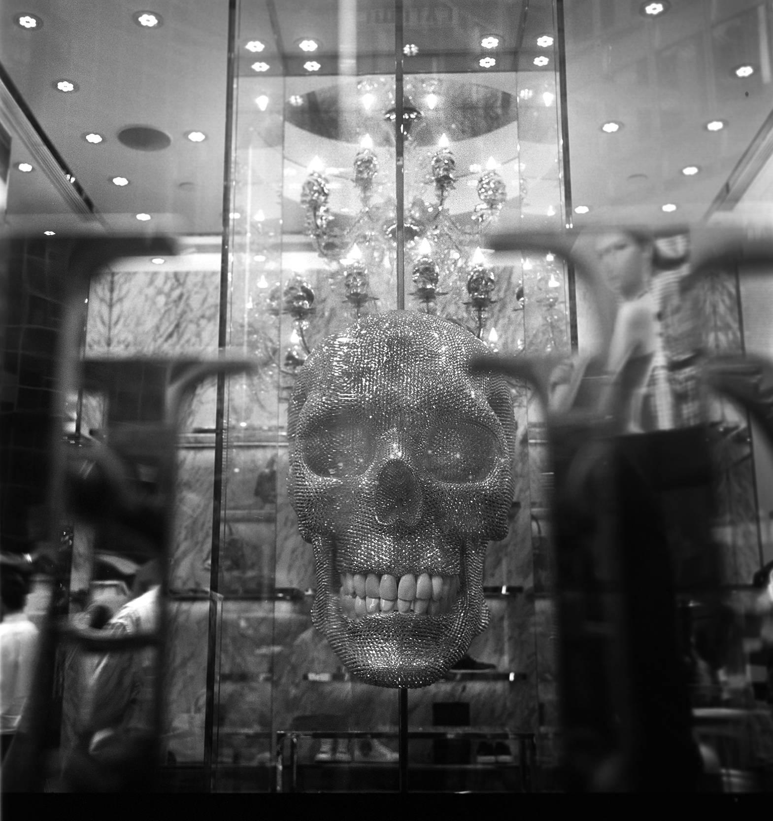 """""""Philipp Plein Skull"""" Queen's Road, Hong Kong. 2015"""