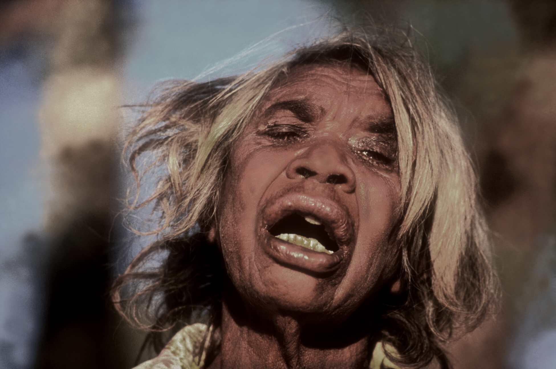 Indigenous Woman. Roper River Northern Territory, Australia. Late 1980s