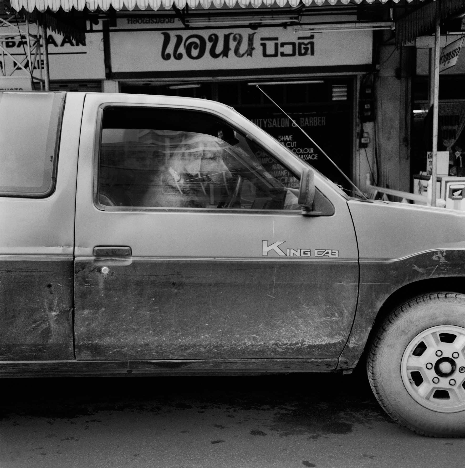 """""""Waiting Dog"""" Chiang Mai, Thailand. 2001"""