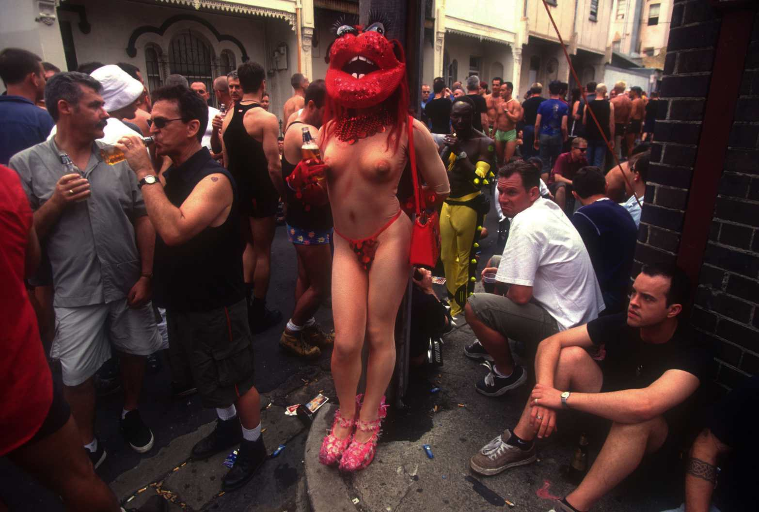 """""""After Party"""" Gay Madigras, Sydney. The late 1980s"""