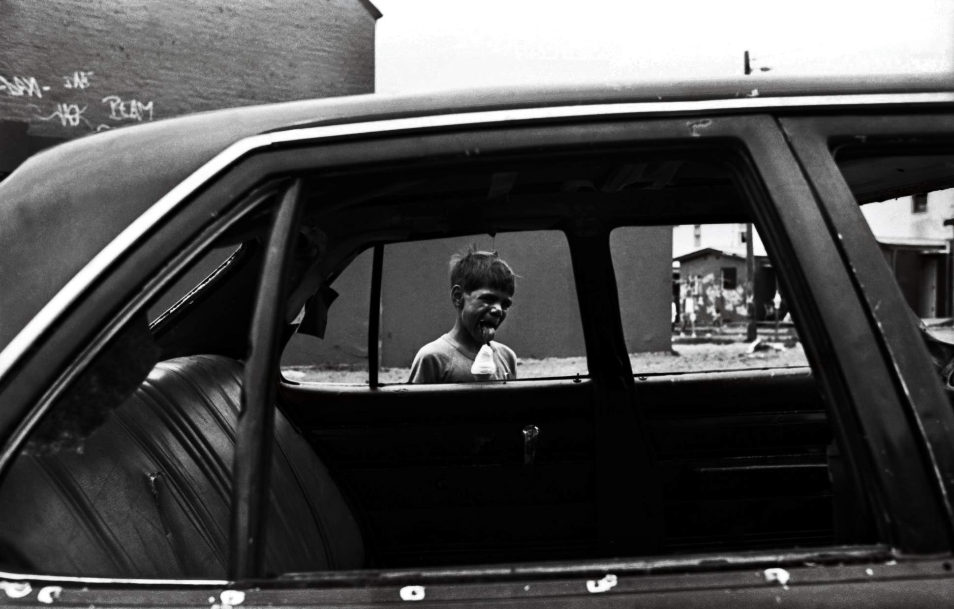 """""""The Block"""" Redfern, Sydney. The early 1980s."""