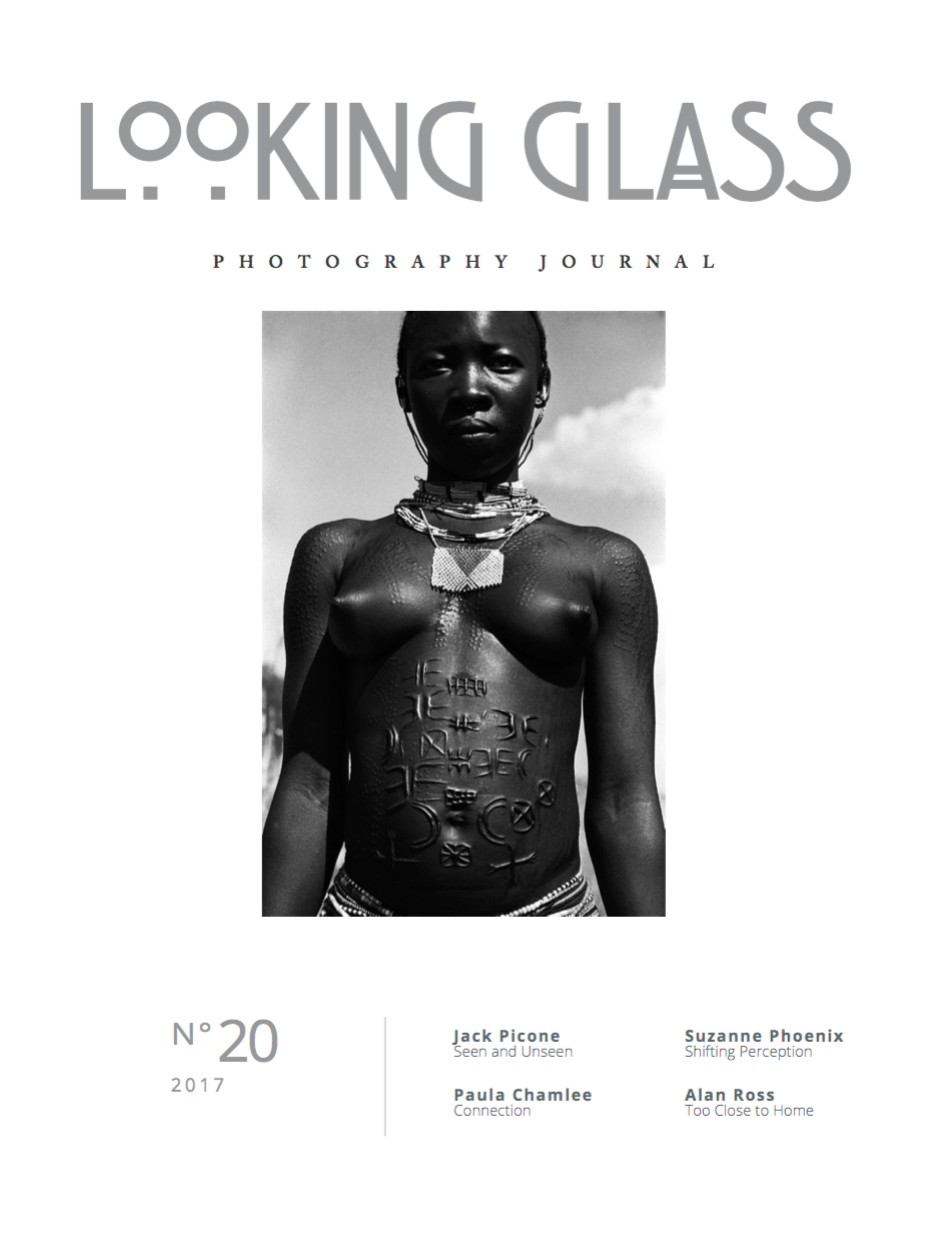 * Subscription based zine. Single Issue No. 20 Cover image by Jack Picone ('Scarification.' A young woman in the Nuba Mountains, Sudan.)