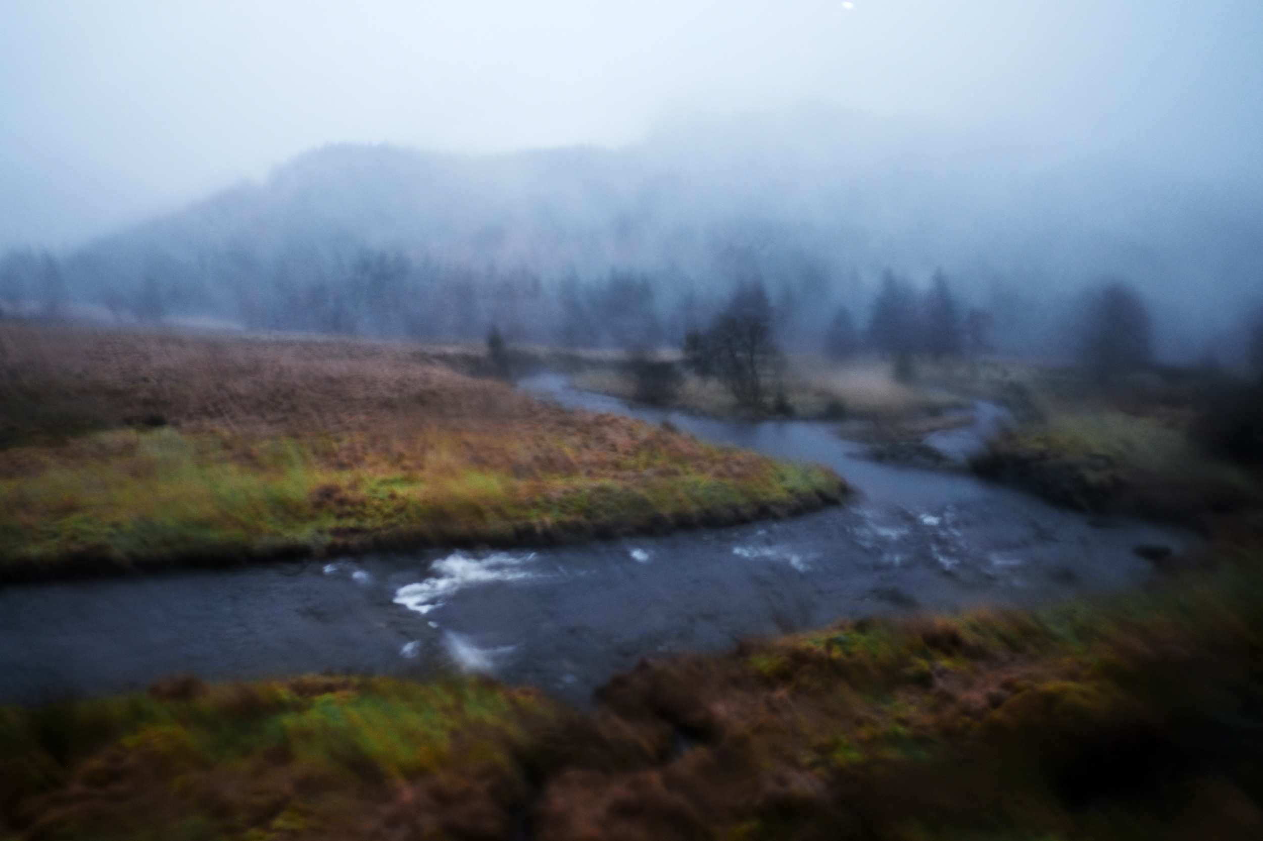 From the bus window, Argyll & Bute.