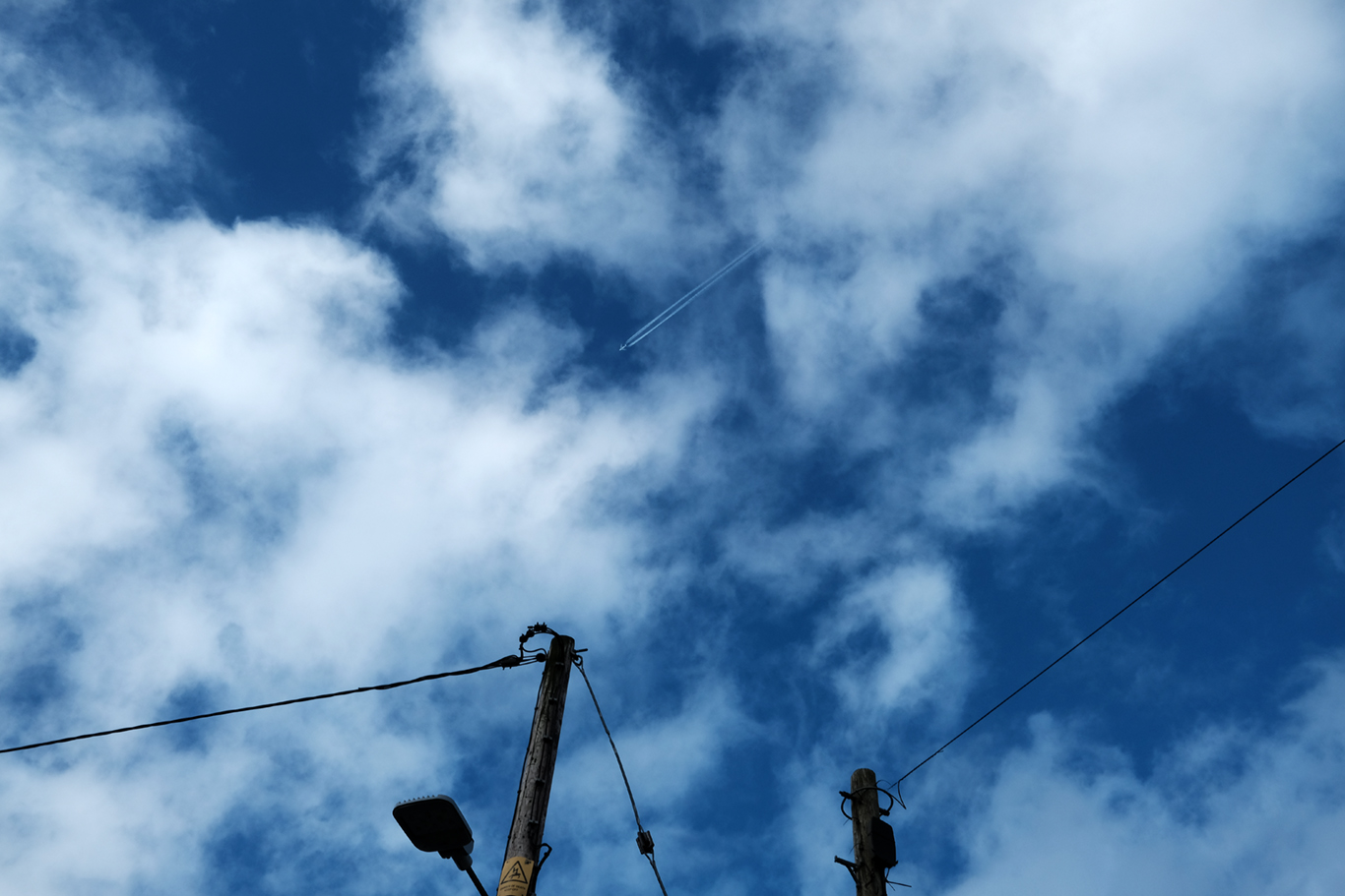 Jet over Tayvallich #2 Argyll & Bute.