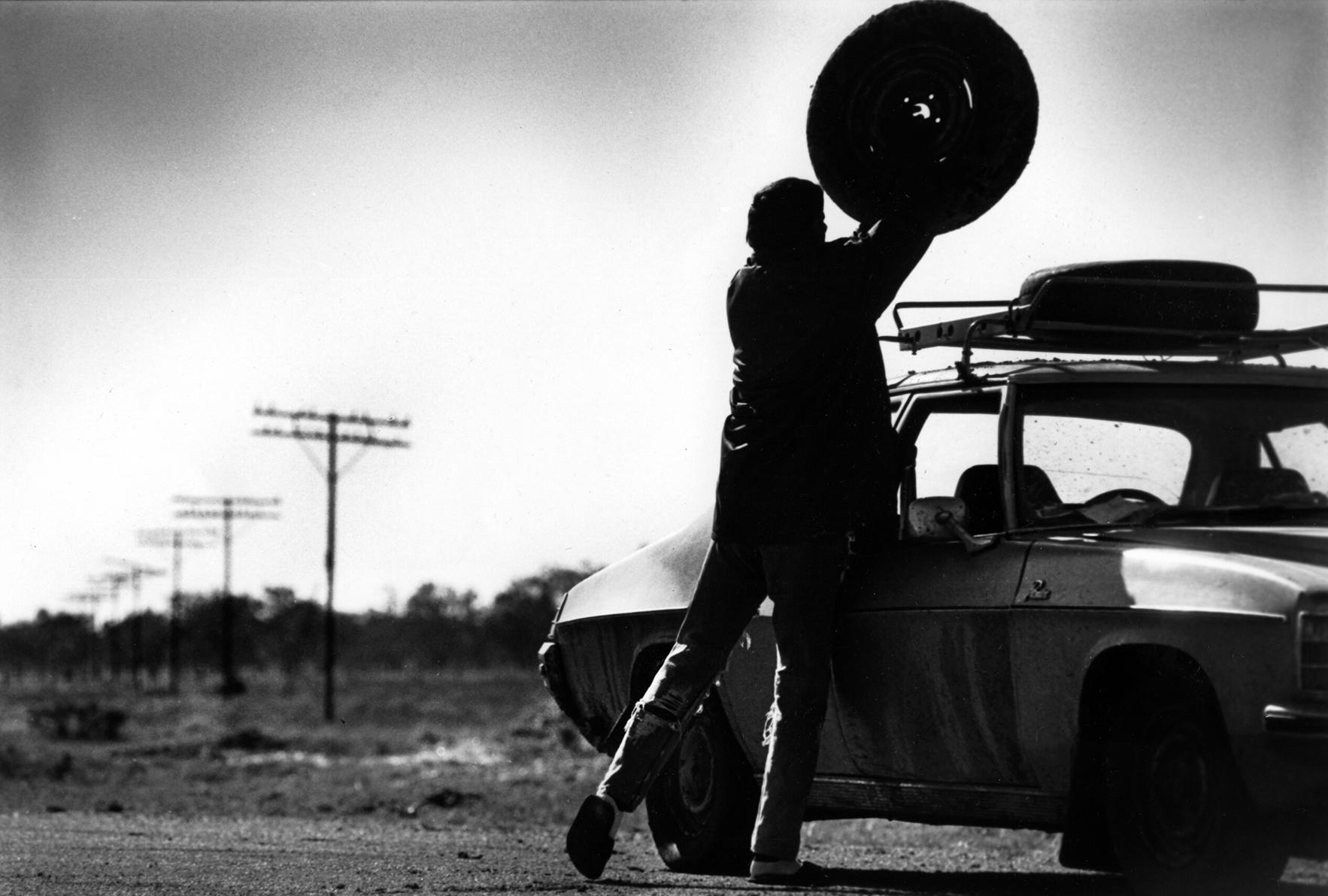 En route to the next sheep station, outback NSW, Australia. 1996