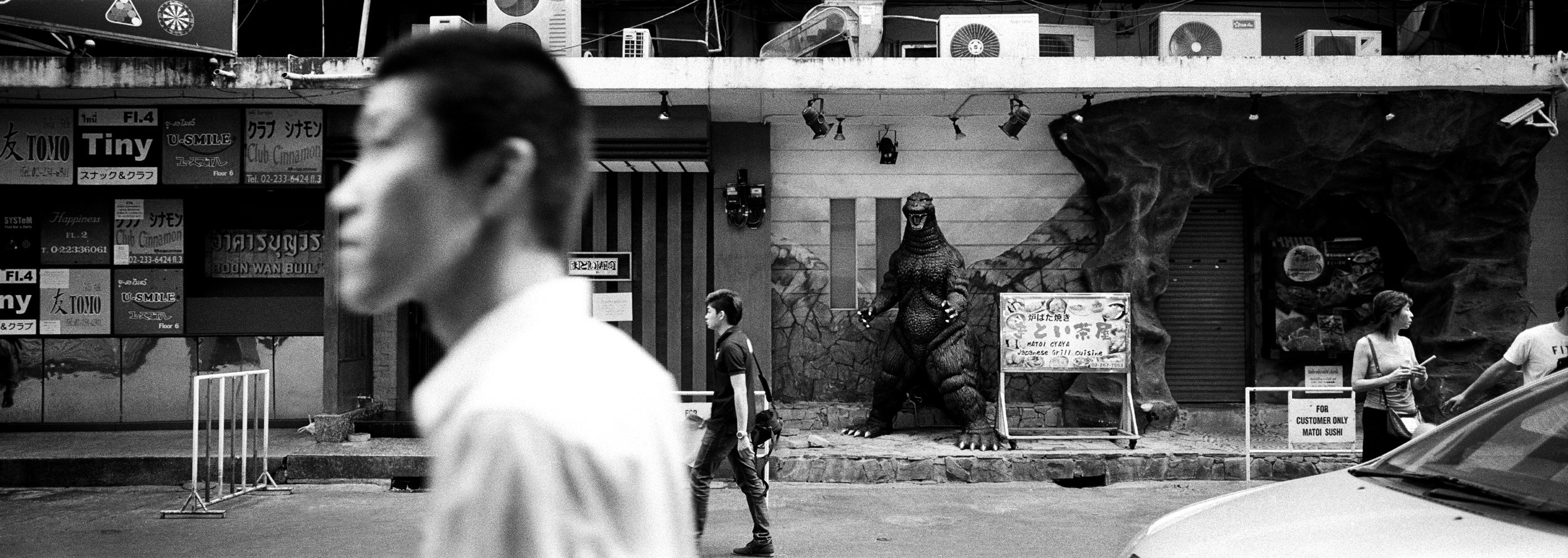 """Godzilla."" Bangkok, Thailand. 2014"