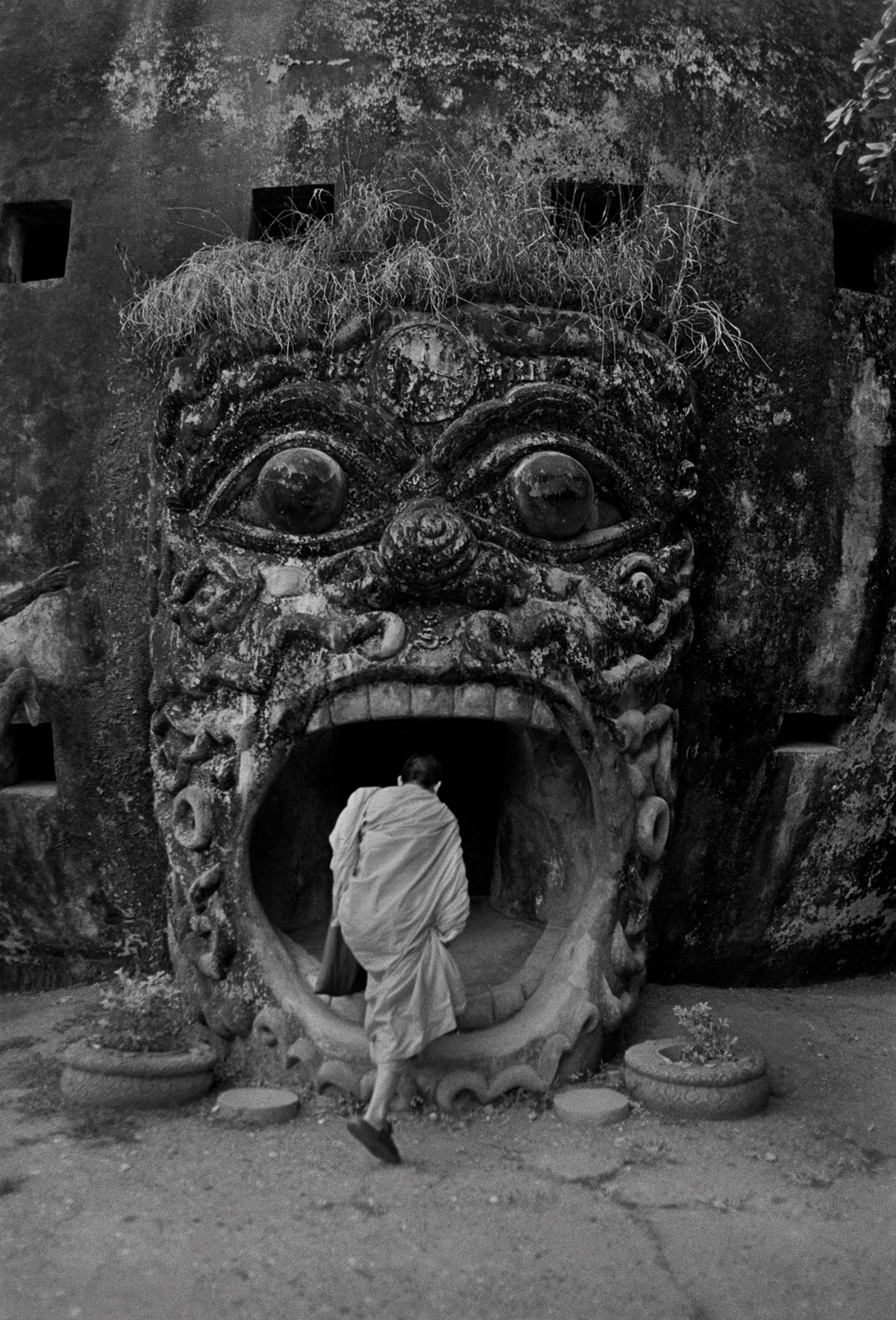 Buddha Park, also known as Xieng Khuan, is a sculpture park located 25 km southeast from Vientiane, Laos. 2000