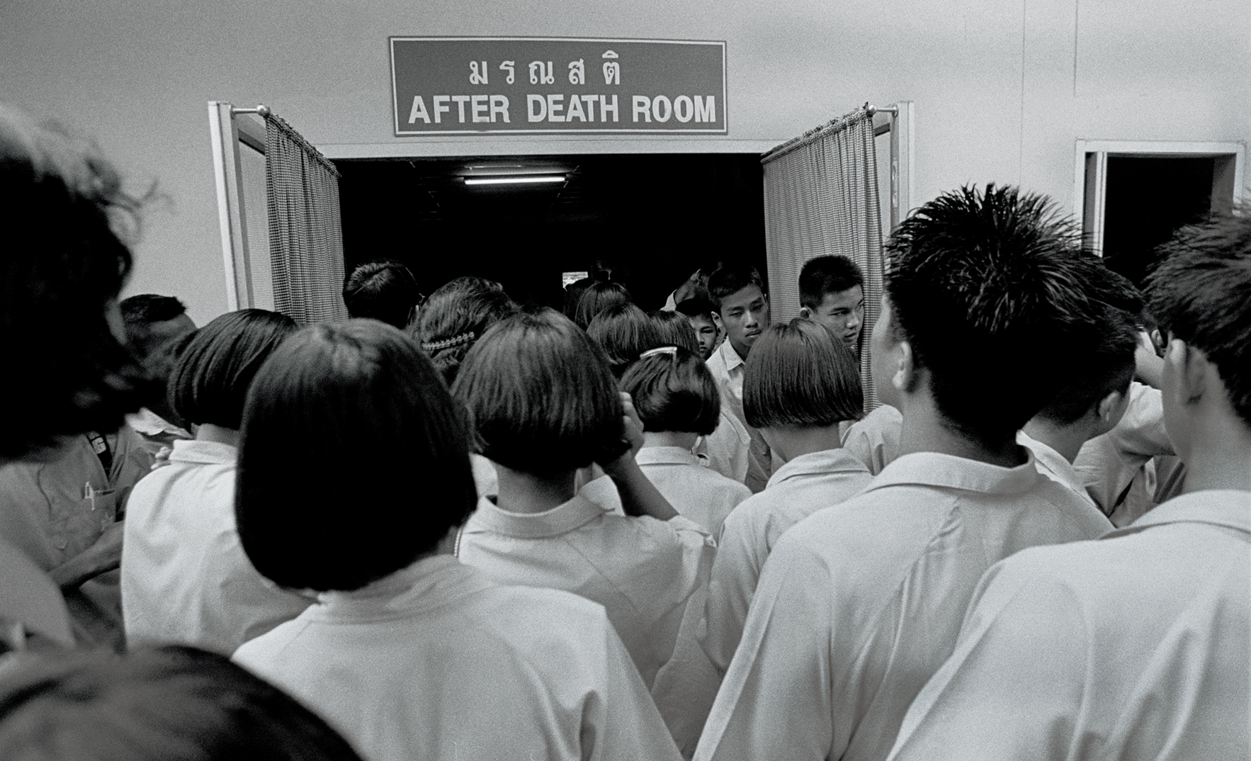 """""""After Death Room."""" AIDS museum in Lopburi, Thailand. 2005"""