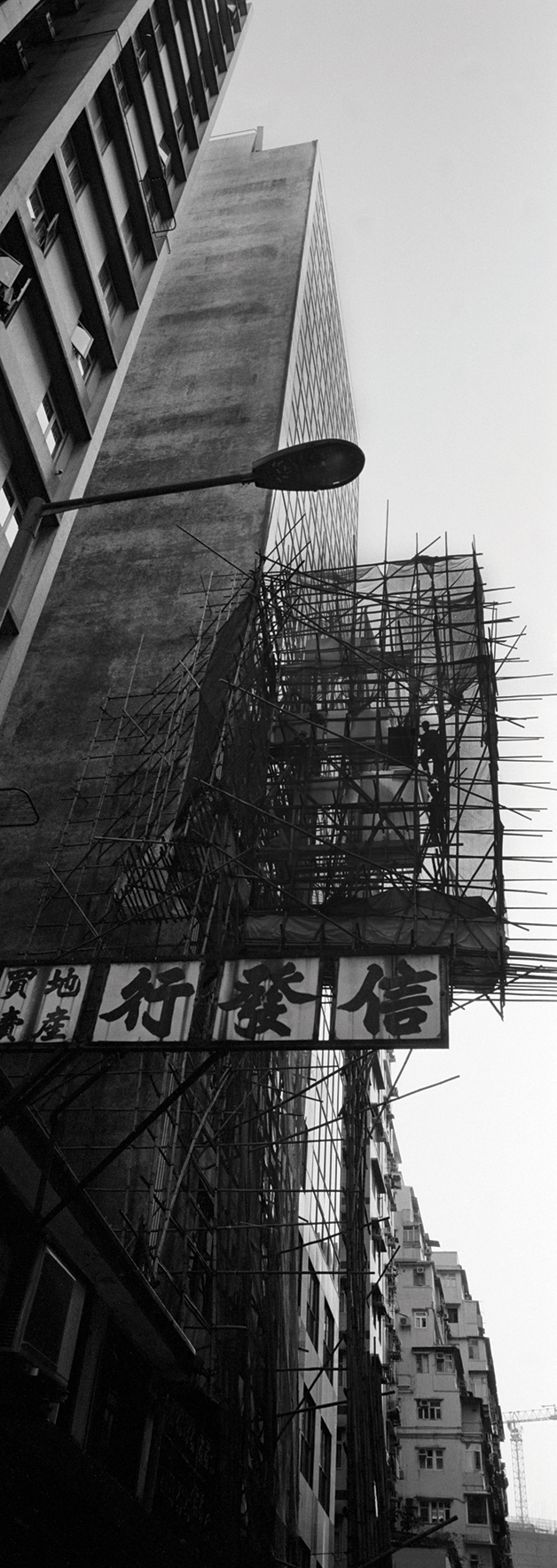 Bamboo cage, Hong Kong. 2015