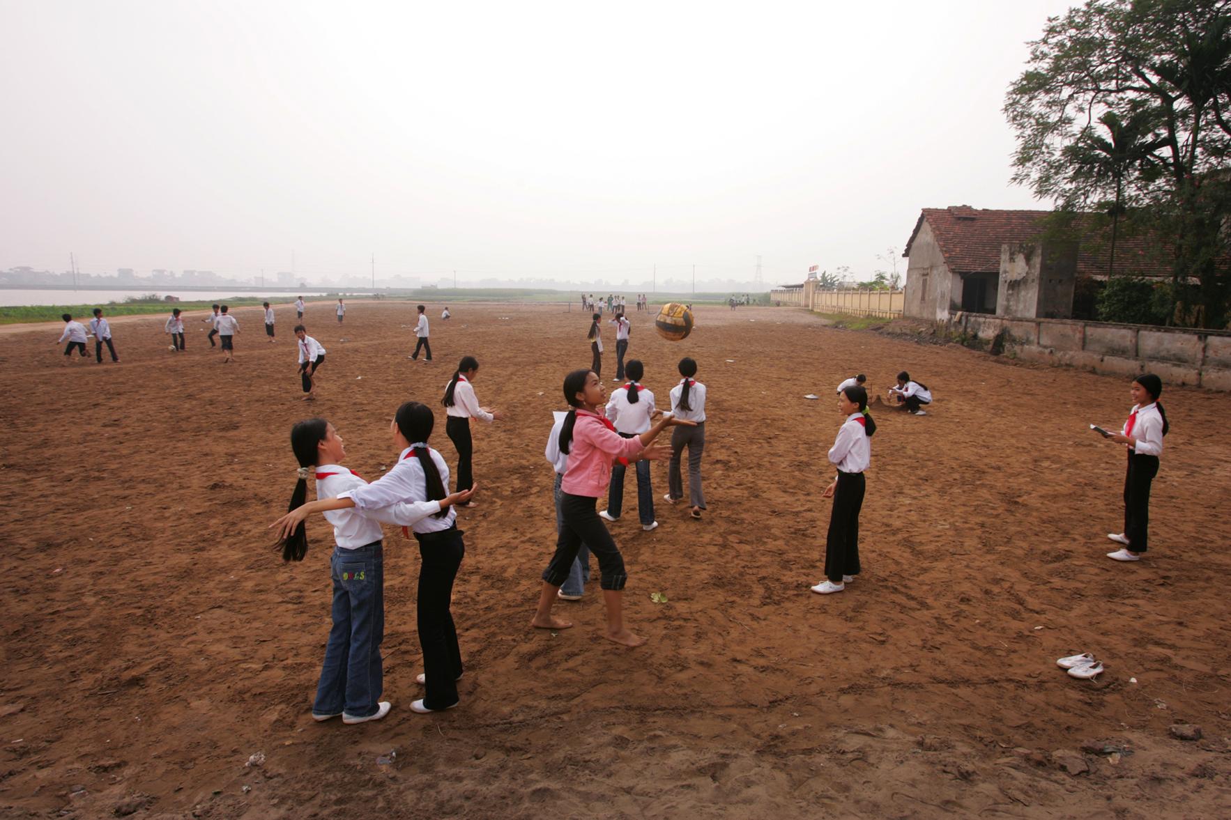 """""""Recess."""" School, Vietnam, 2007"""