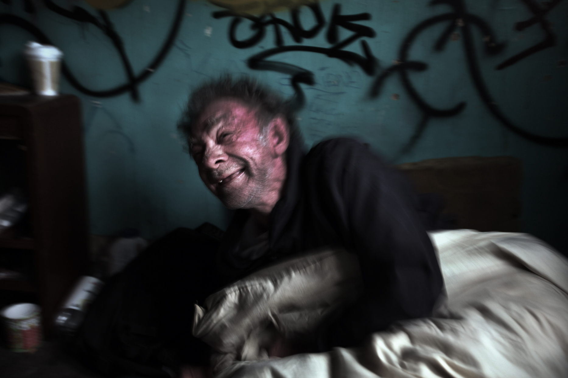 Dennis has been an alcoholic and homeless for an astonishing thirty-five years.