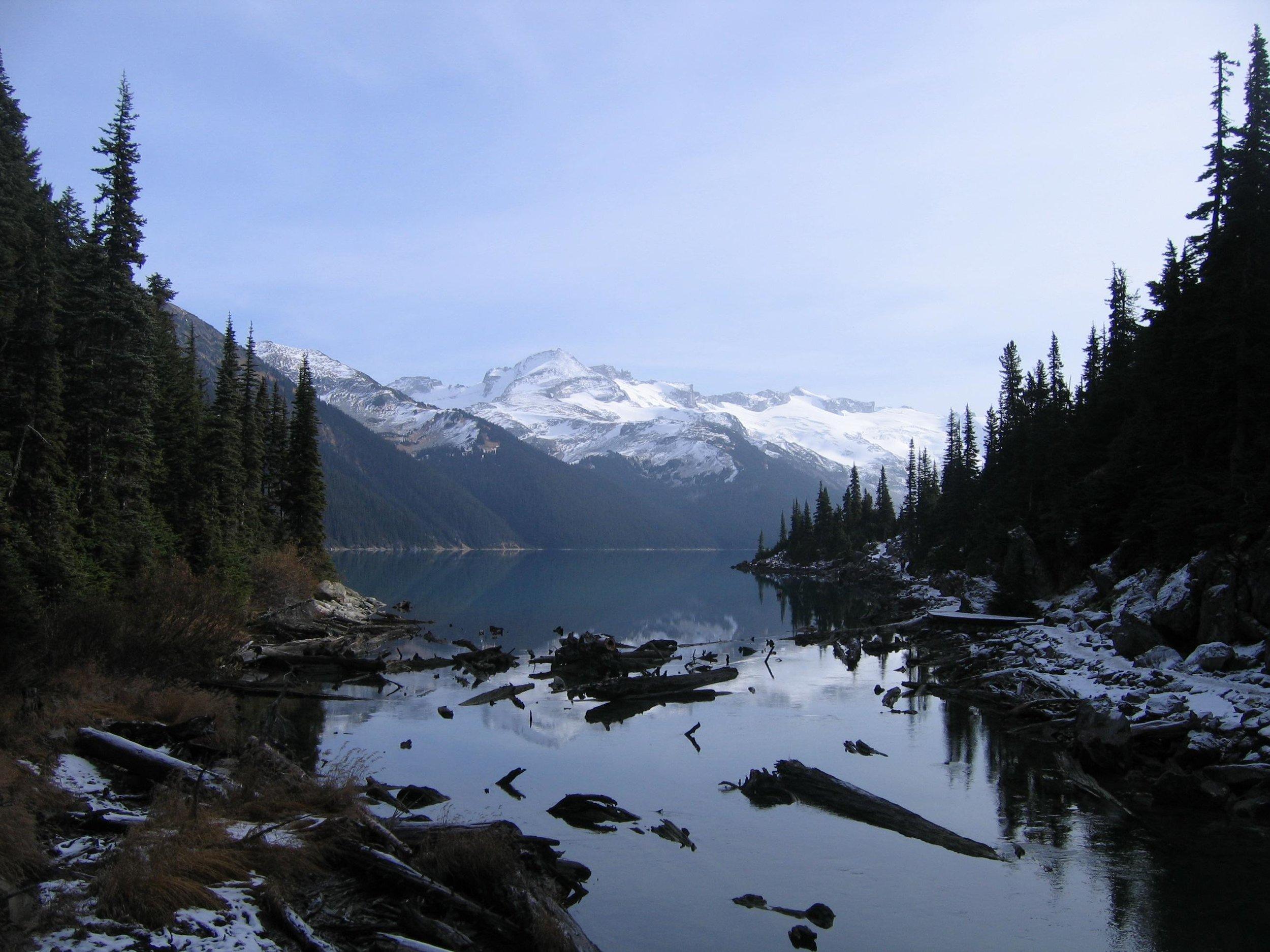 Garibaldi Lake, British Columbia, 2009. Irina Telyukova