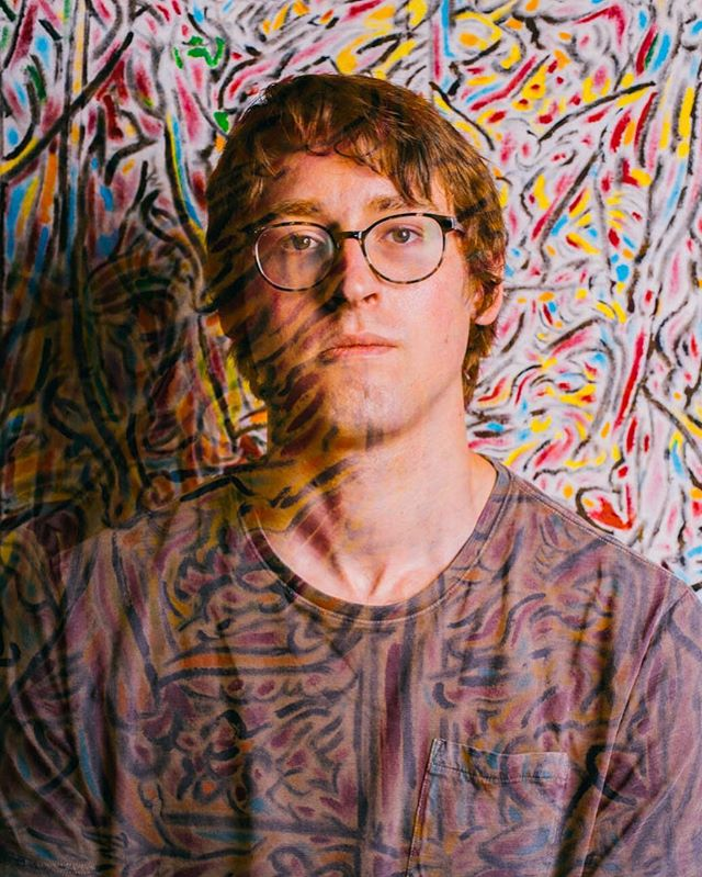 Double Exposure Portrait of Maclin featuring one of his paintings. Check out more of his work, support your local artists - especially someone this cute. ☺️🎨