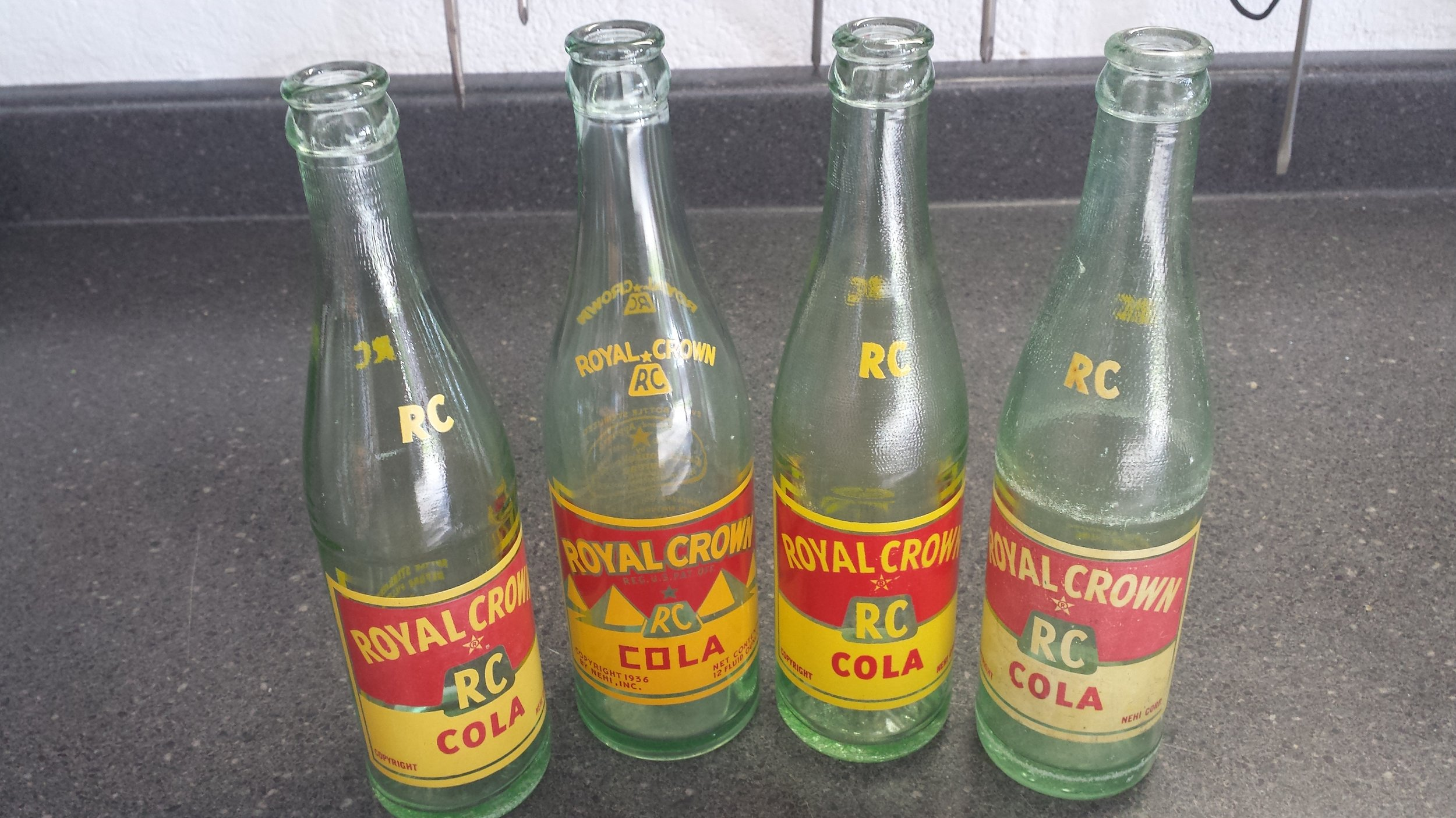 Few RC bottles. One being the Pyramid bottle