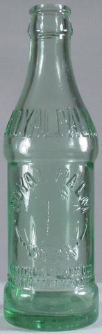 Early embossed bottle