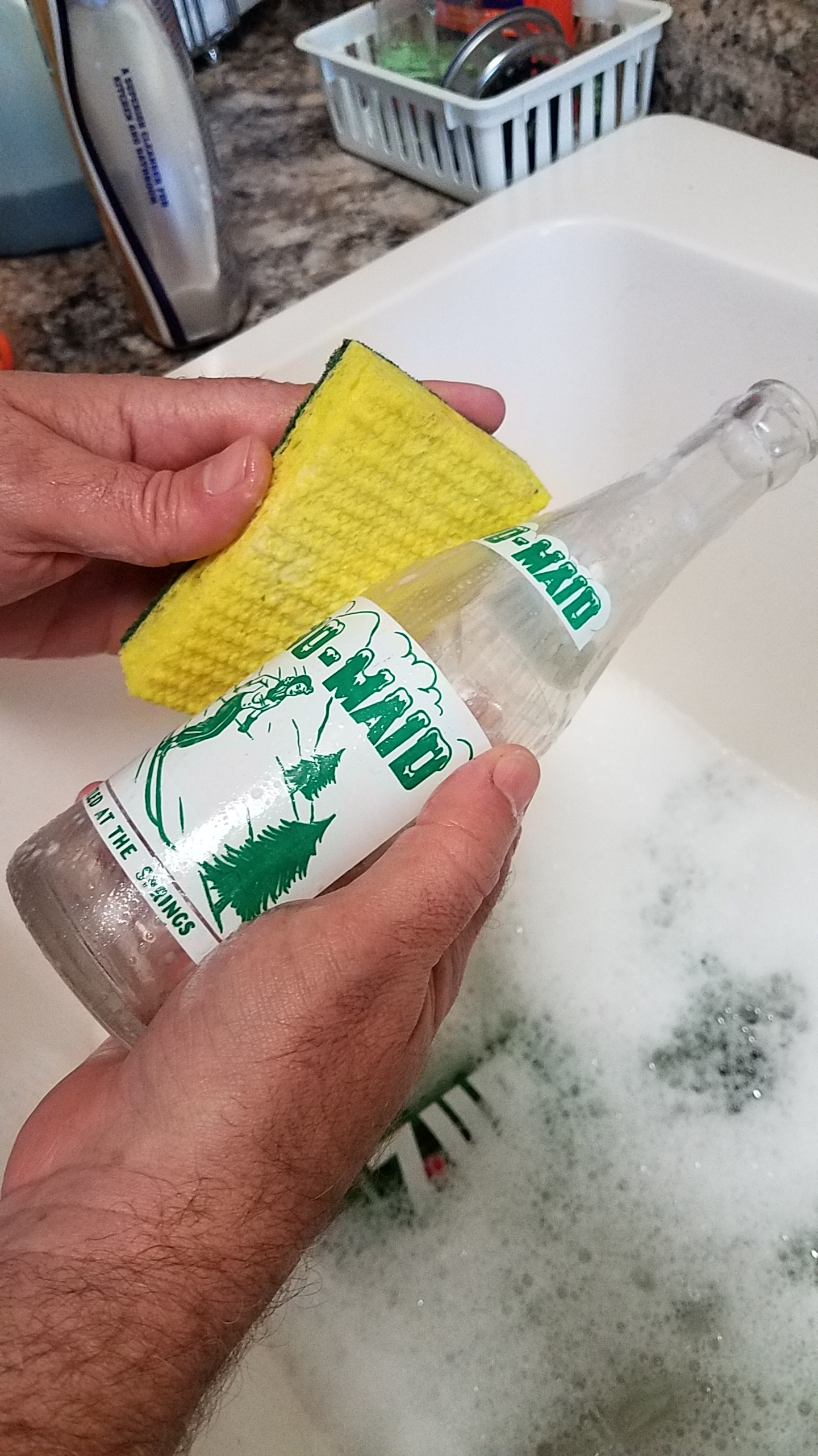 Cleaning with Soft Pad