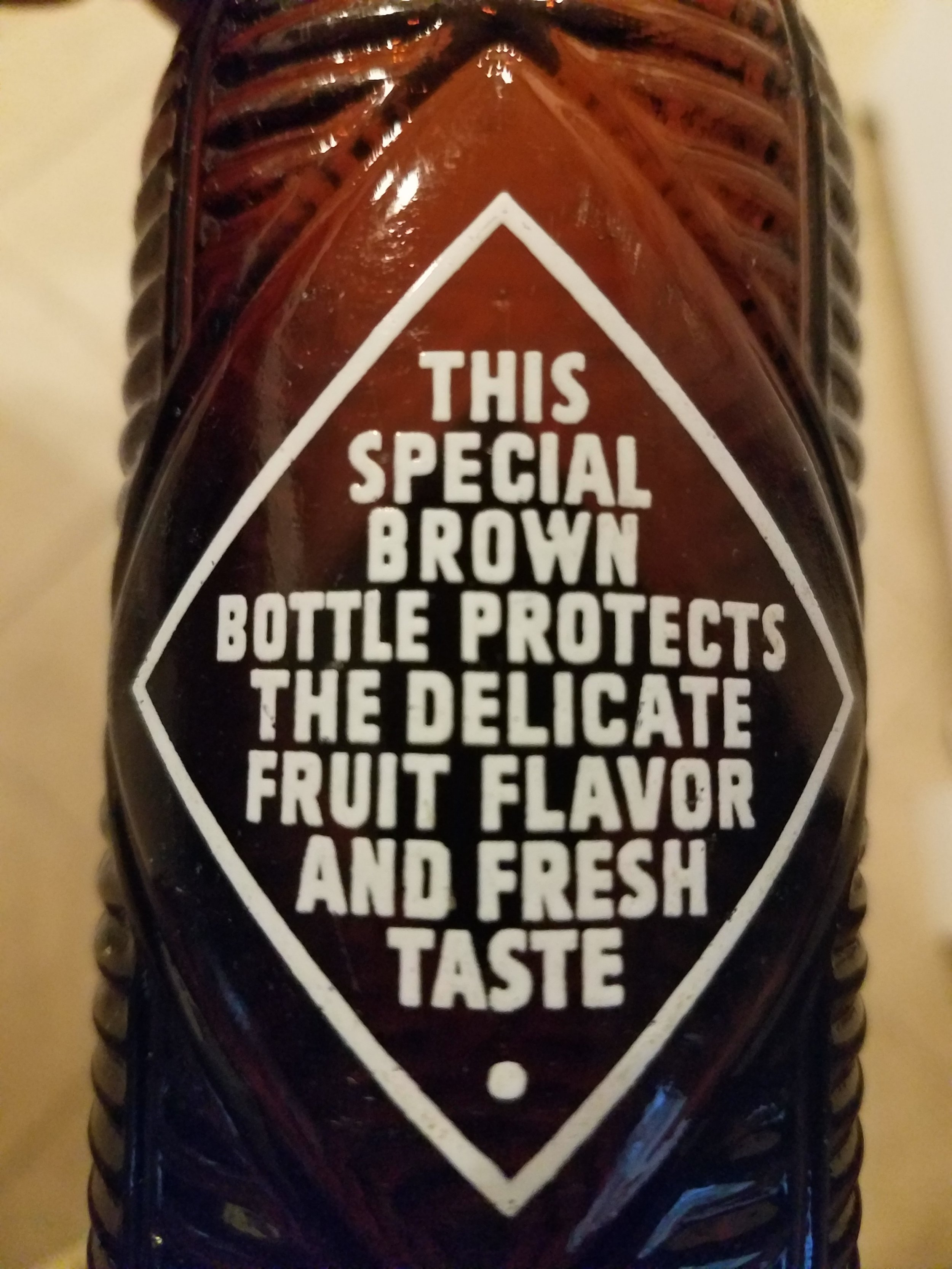 """Protects the Delicate Fruit Flavors"""