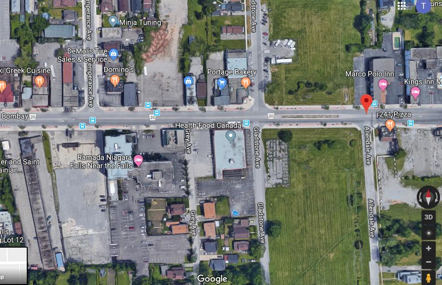 1730 Ferry Street, Niagara Falls (Building demolished)