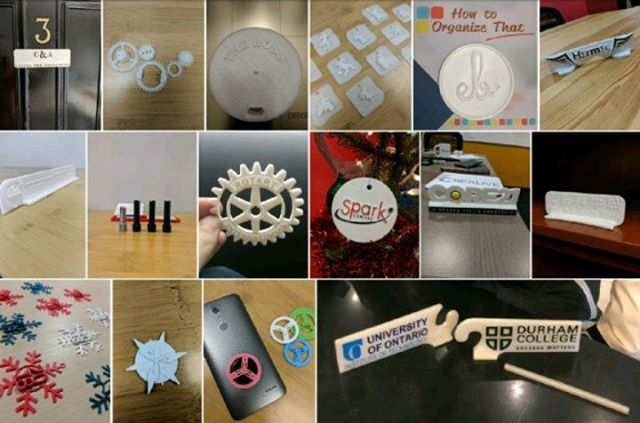 Throwback to some of the projects we've worked on and creativity we've shared! #tbt #nowThatsCreaLive #throwback . . . . #3drendering #3dprinting #partnership #gifts #logo #scubadiving #gears #office #community #education #library #dc #uoit #promo #video #edit #videoEdit #snowflake