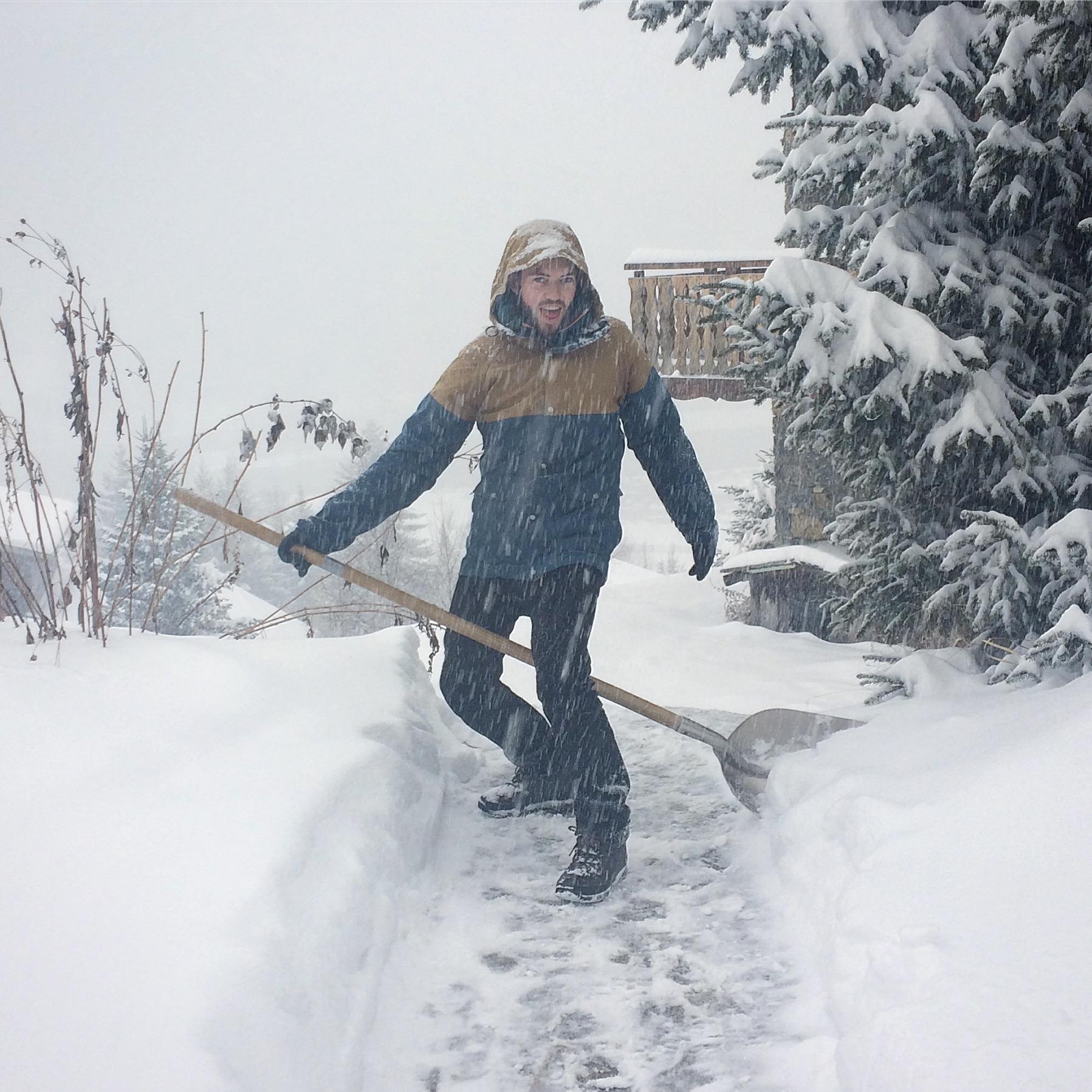 Snow in Tignes