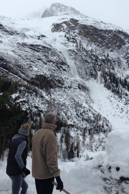 Avalanche in Tignes