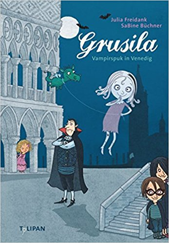 Grusila - Gespenstermädchen Grusila und Drachenkind Lisi können es kaum erwarten: Vampir Paul hat sie zum Karneval nach Venedig eingeladen. Doch das Fest droht ins Wasser zu fallen. Denn der fiese Vampir Zampano Loredano haust unter der Seufzerbrücke und treibt in der Stadt sein Unwesen. Er hat nicht nur den Hut des Dogen geklaut, sondern auch dessen Nichte entführt. Das geht natürlich gar nicht. Grusila und ihre neuen Freunde greifen ein. Nur gut, dass Zampano Loredano so schrrrecklich eitel ist!