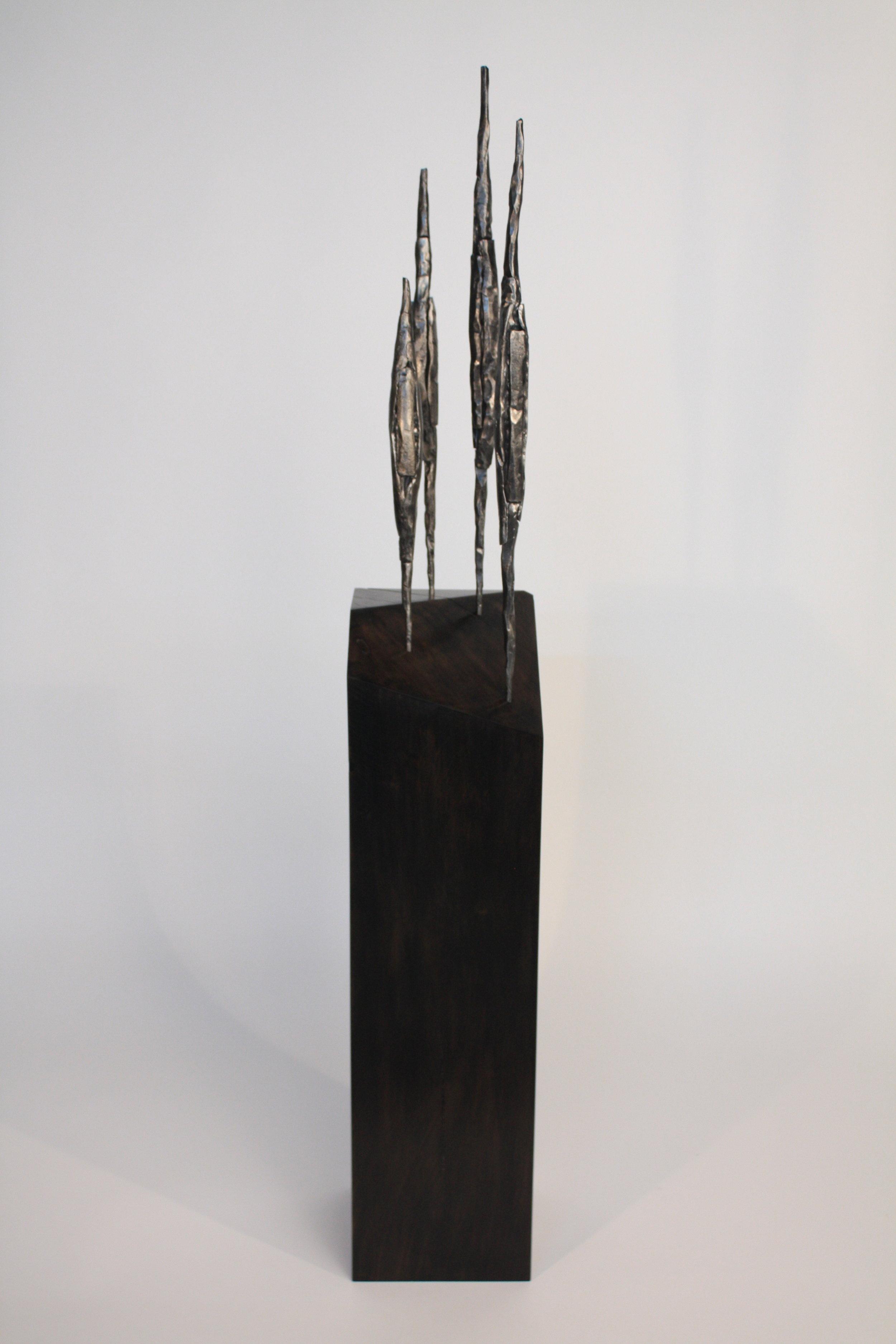 Moonlight on a Dark Sea - 2016forged steel, ebonised wood126 x 19 x 20 cmSOLD