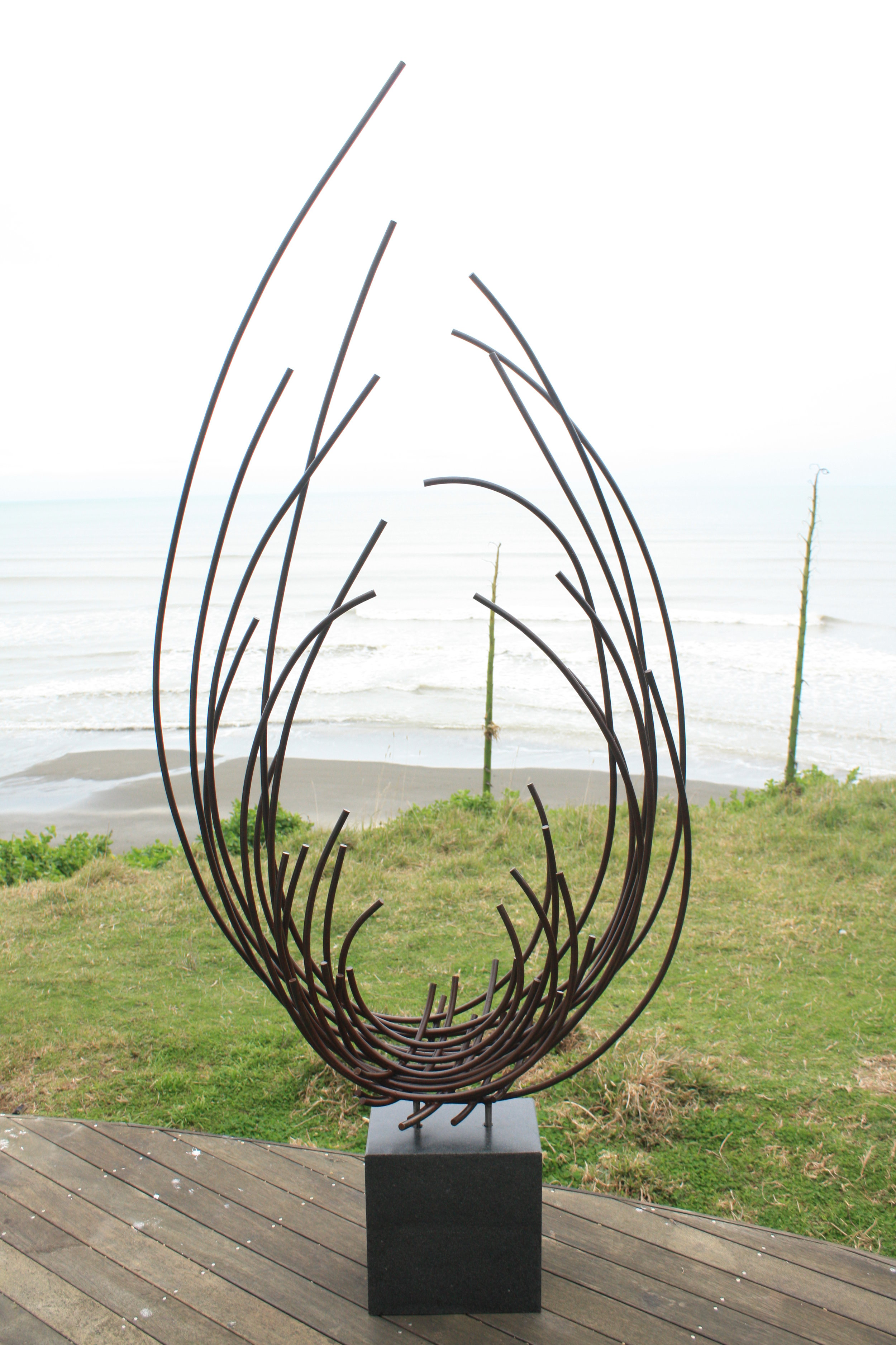 Blossom - 2015Steel, Basalt220h x 95 x 44 cmSOLD