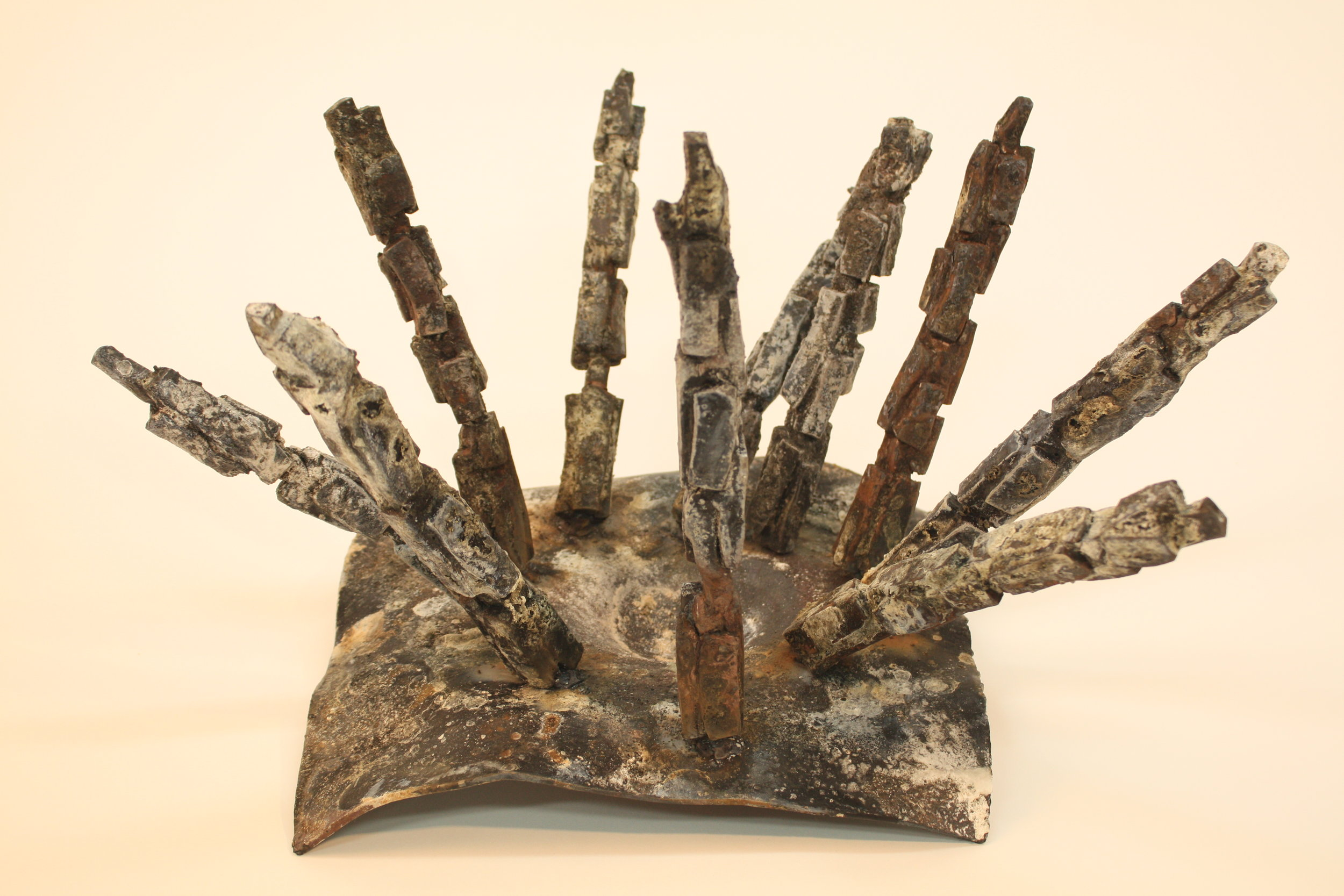Fallout - 2017Forged steel and Borax45 x 53 x 33cm