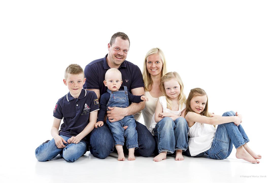 Stadig flere ønsker morsomme og livlige familiebilder