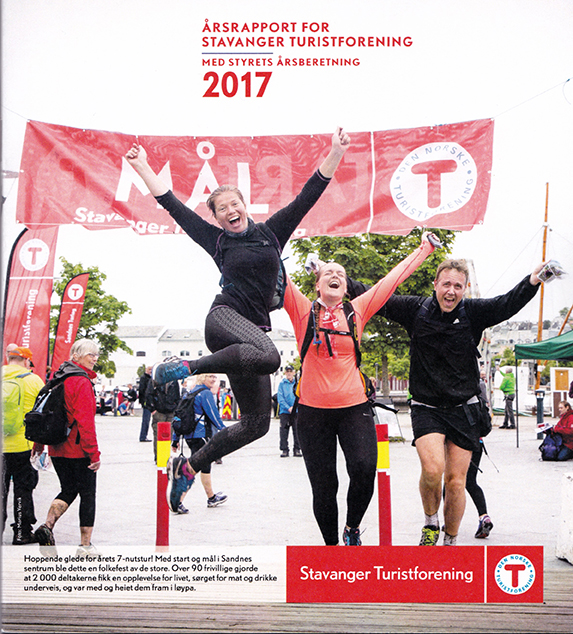 Stavanger Turistforening årsrapport