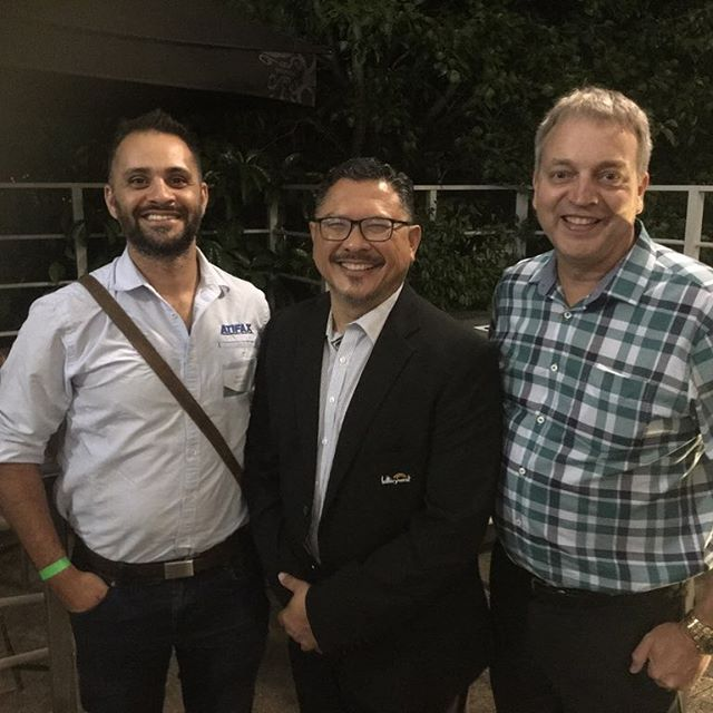 Last night our director Brenton Fernandes attended the annual ALNA roadshow event in Midland 🛣 It was a pleasure catching up with all the retailers, Chris Santamaria from Lotterywest and the WA ALNA General Manager Dean Scott . . .  #lotterywest#alna#supportyourlocal#shopfittingperth