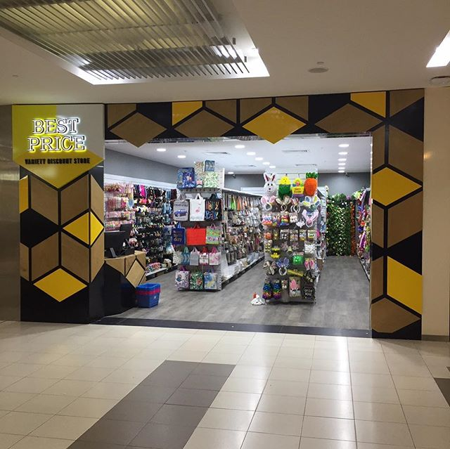 Best Price Variety Discount Store, Rockingham ready for trade! . . . #rockinghamshoppingcentre#vicinitycentres#bestpricediscount#shopfittingperth