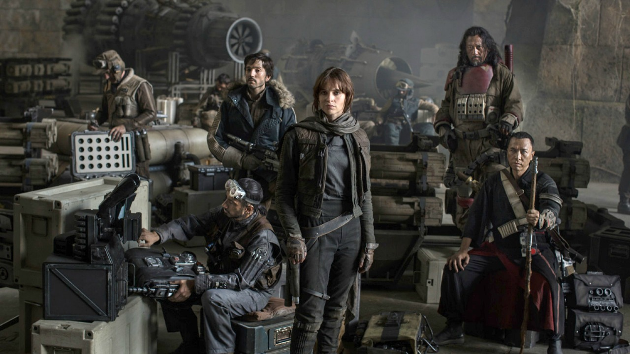 "Rogue One - Amanda welcomes new guest, Vicki to the podcast to discuss Rogue One: A Star Wars Story. Vicki compares Darth Vader to a locked away princess, Amanda is REALLY bothered by Tarkin's CGI face, and they both appear to have been ""super cool"" in high school."