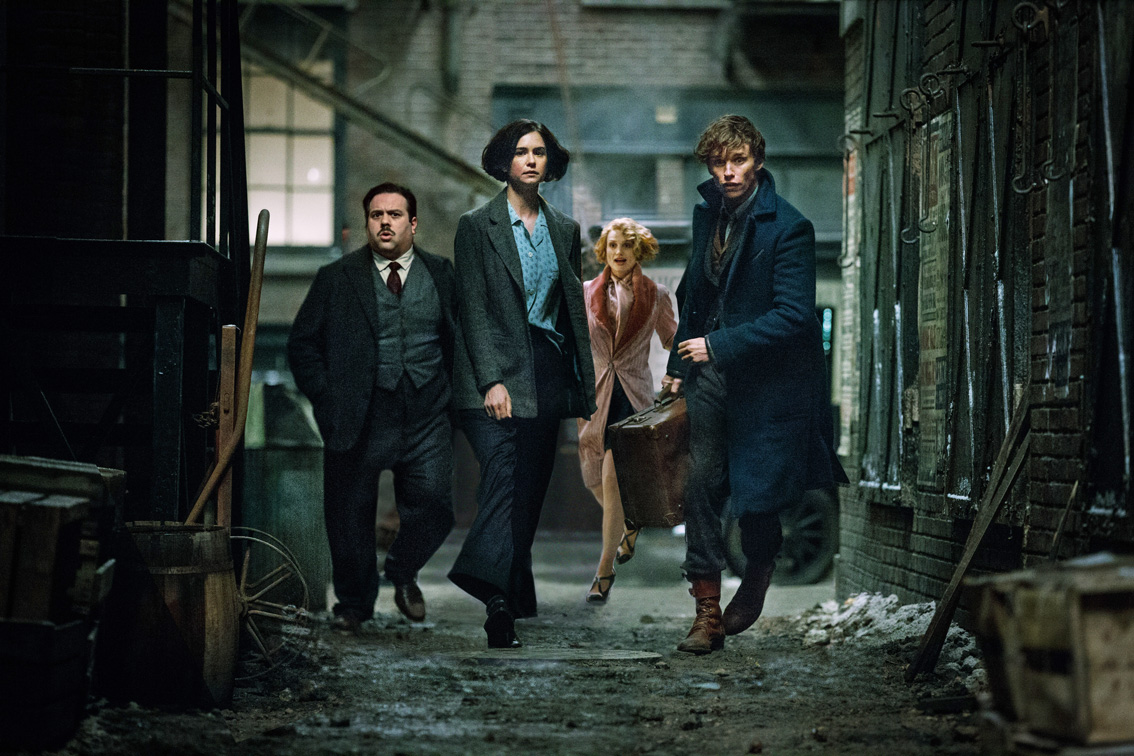 Fantastic Beasts and Where to Find Them - Amanda welcomes three new guests, Addie, Kayla and Chris H., to discuss the latest Wizarding World film, Fantastic Beasts and Where to Find Them. Addie is the coolest teenager around, Kayla learns new things about her husband, including how to pronounce his name, Chris is not a fan of the Second Salemers, and Amanda wants to be Queenie when she grows up. Plus, no one likes Johnny Depp in the film.
