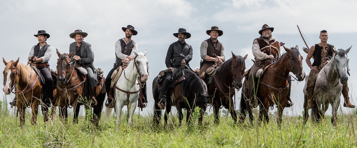 The Magnificent Seven (2016) - Amanda welcomes new guest, Jessica, and return guests Nathan and Ariel, to discuss the remake/reimagining of The Magnificent Seven. Jessica loves old people, even if they're evil, Nathan has a Trolls cup, Ariel seeks comfort from Jessica during the more intense parts of the film, and Amanda has some issues with the ending. However, everyone agrees that Vincent D'onofrio is amazing in the movie.