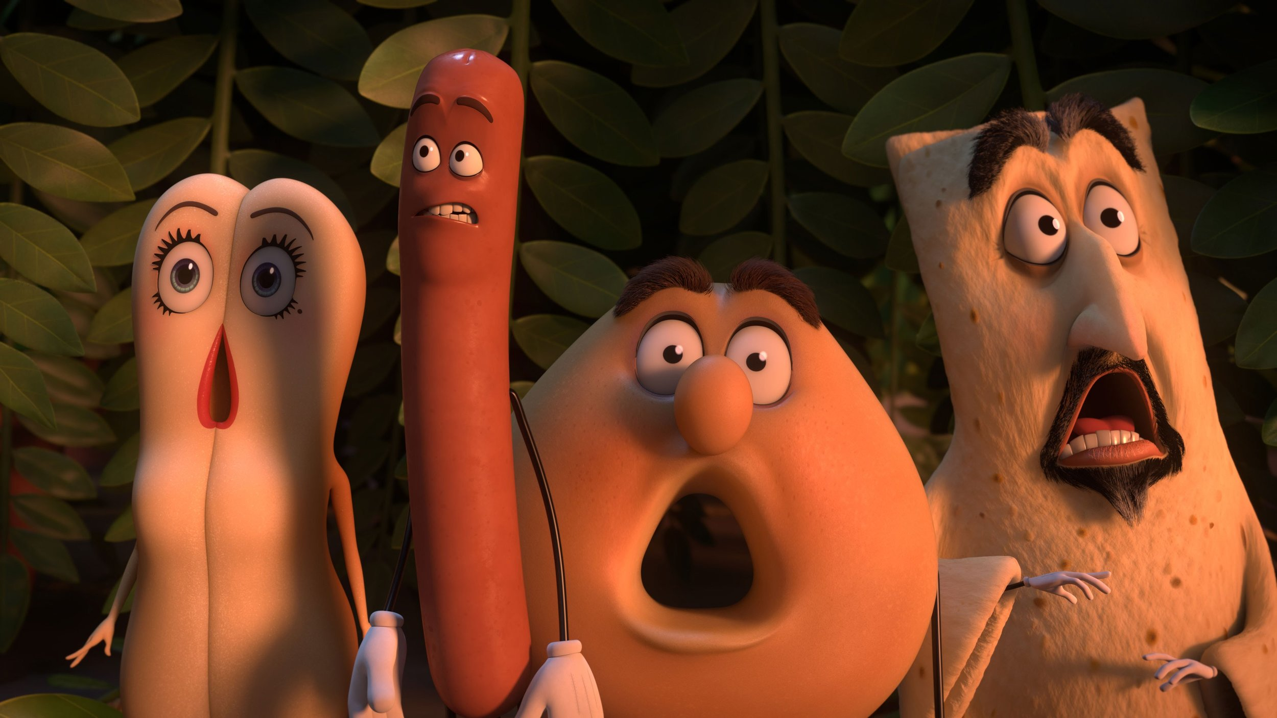 Sausage Party - Amanda discusses Sausage party with repeat guest, Dan, and new guest, Ariel. Dan nerds out about trains, Ariel thinks Sausage Party could make a great date night movie and Amanda feels incredibly uncomfortable while Dan makes it worse.