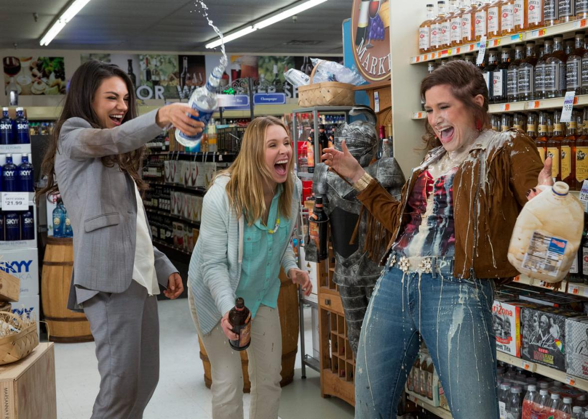 Bad Moms - Amanda discusses Bad Moms with guest Jimmy. They talk about the first pop culture entity they bonded over, the merits and flaws of Bad Moms and almost end their friendship over a disagreement about the awesomeness of Mean Girls. (Jim is crazy)