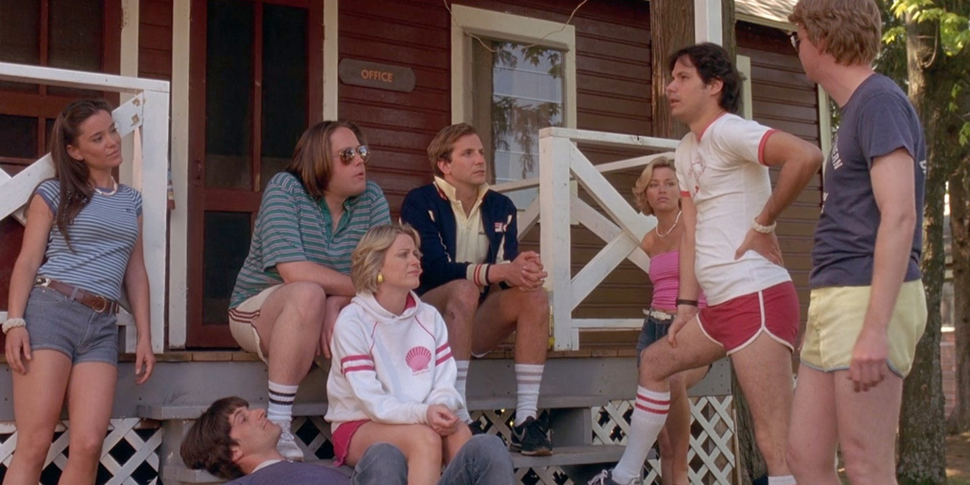Wet Hot American Summer - Amanda welcomes new guests, Emily and Robb, and return guest, Shane, to discuss the cult comedy, Wet Hot American Summer. Emily loves seeing Christopher Meloni in comedic roles, Robb relates to the relationship counseling in the arts and crafts time, Shane has incorporated quotes from the movie into his life, and Amanda laughs at child death.