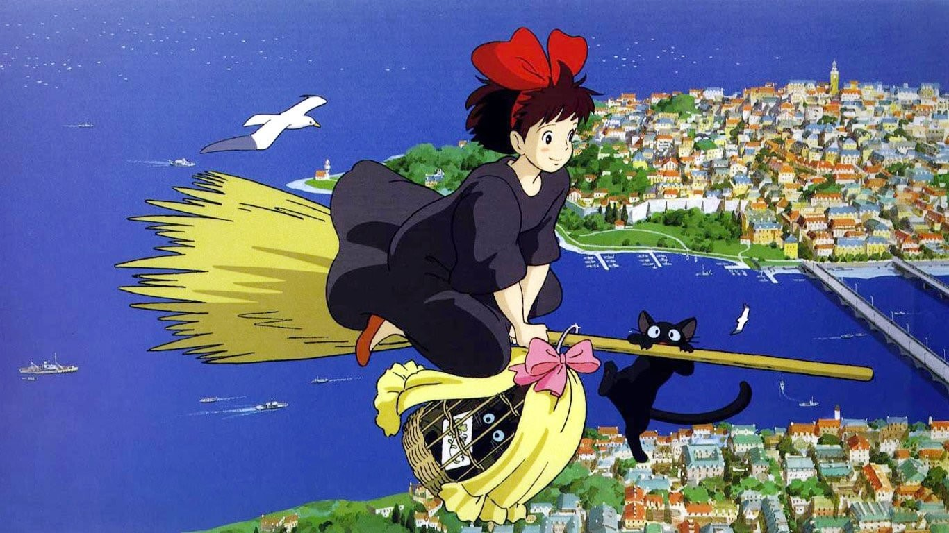 Kiki's Delivery Service (1989) - Amanda welcomes new guest Karen, along with return guests Tim and Lucas, to discuss the animated film, Kiki's Delivery Service. Karen is surprised the movie doesn't have a deeper message, Tim posits that it isn't a Miyazaki film unless someone befriends an old person, Lucas gets riled up about Michael Bay, and Amanda wants to know what is wrong with Kiki's parents.