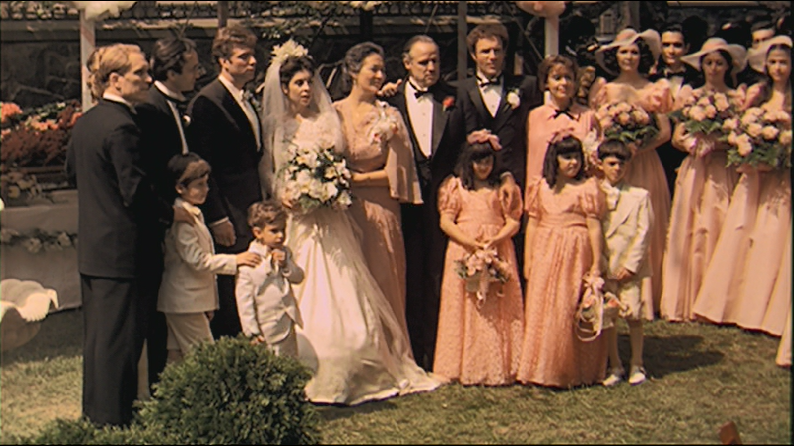 Minute 8: The Godfather-The Wedding Begins - Amanda and Stephen finally enter the brightness of the wedding in Minute 8. They are given visual introductions to a whole new set of characters in the iconic wedding photo but someone's still missing. They also discuss details about the location used for the Corleone compound.