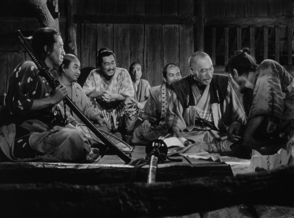 #2 Seven Samurai - Amanda and Liam take on Akira Kurosawa's Seven Samurai this week. Amanda gets riled up about the portrayal of women in the film, Liam comes up with nicknames for the samurai and they both discuss auteurism.