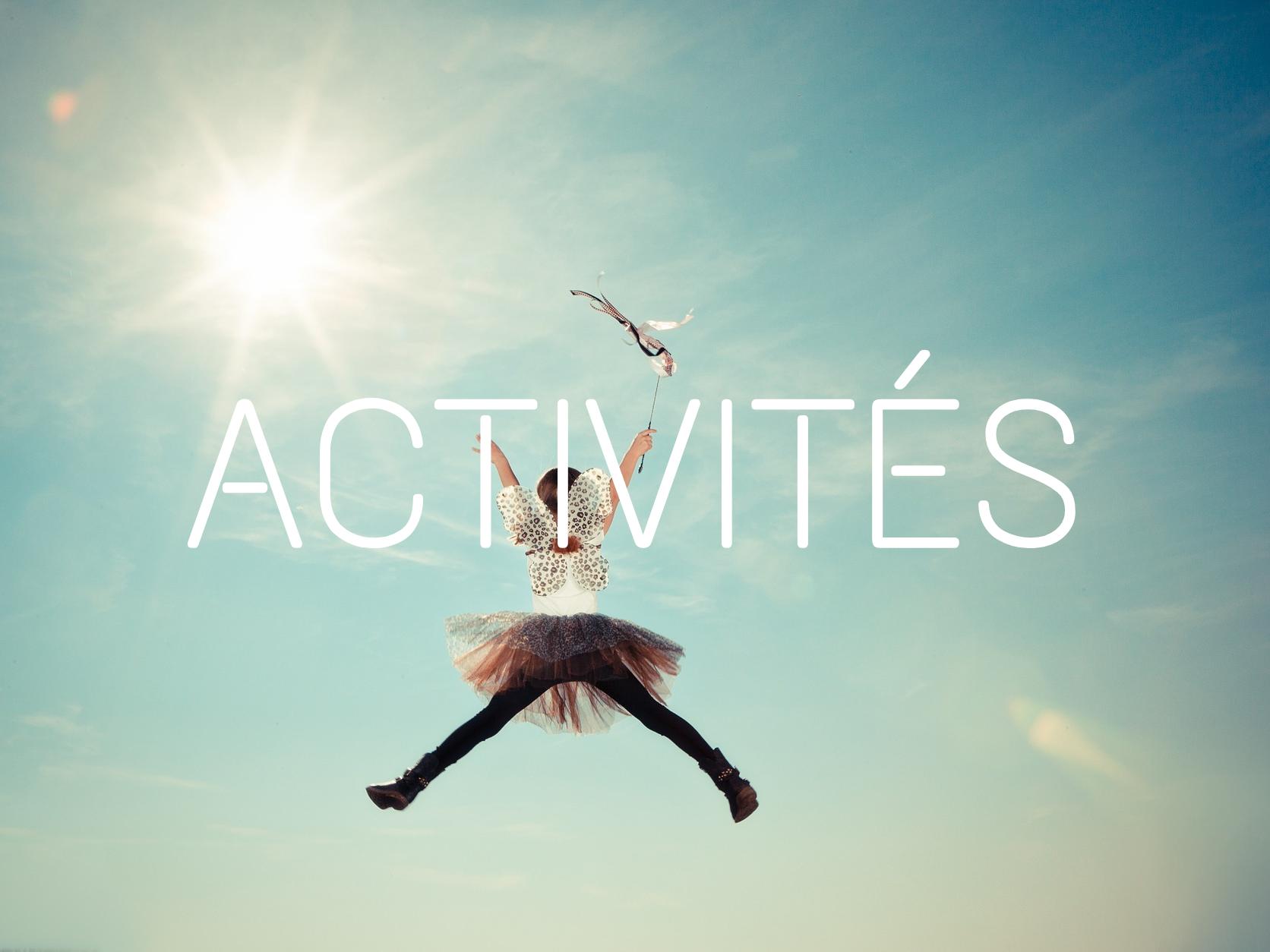 Des activités hors du temps scolaire sont proposées aux enfants et adultes…