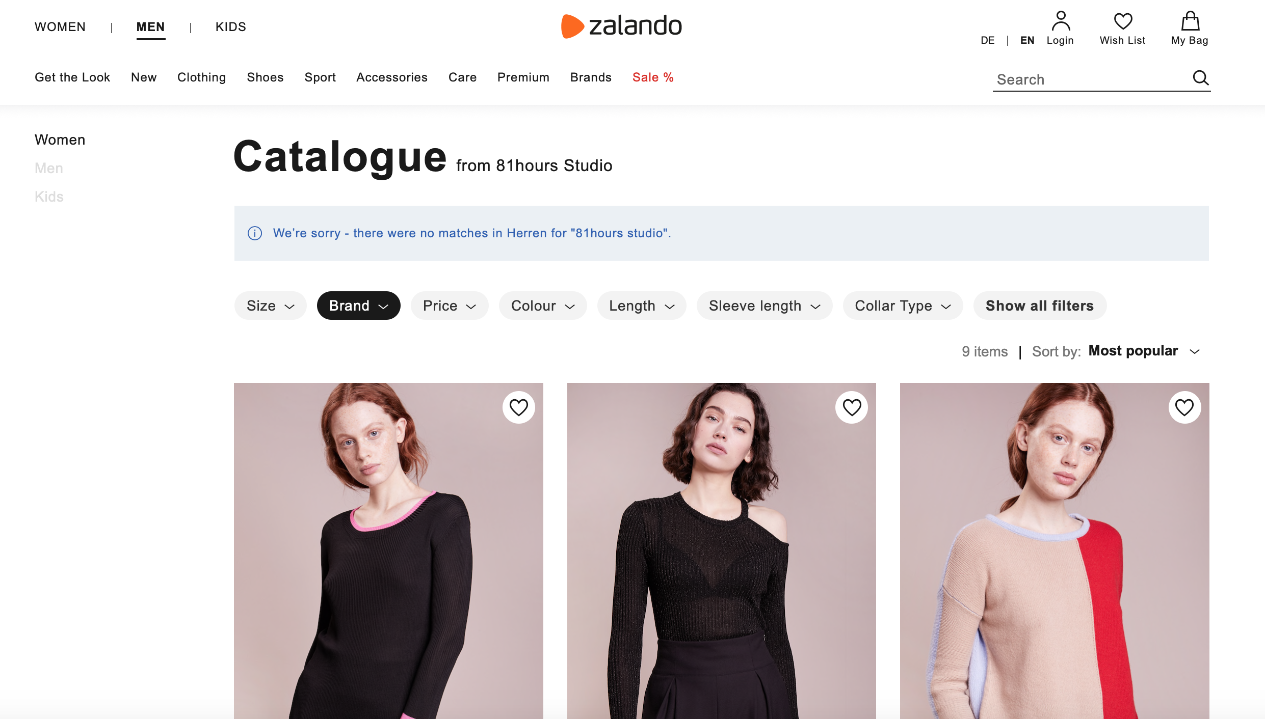 ZALANDO X 81HOURS - Collection Design and DevelopmentSPECIAL SALES CAPSULE COLLECTION