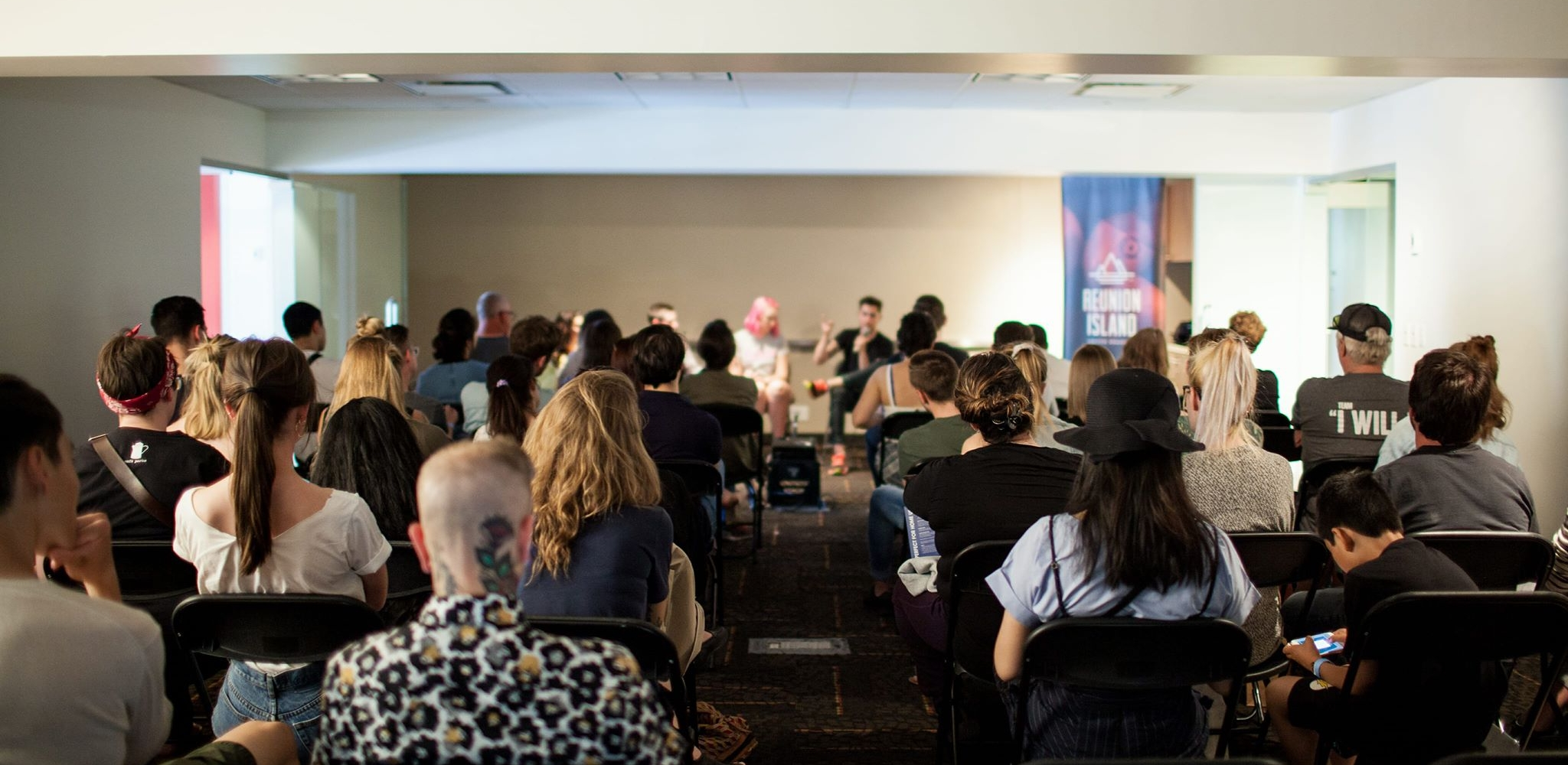 Specialty Coffee Association Panel Discussion about How to Have a Career in Coffee. Photo: Britney Townsend @bheathertownsend