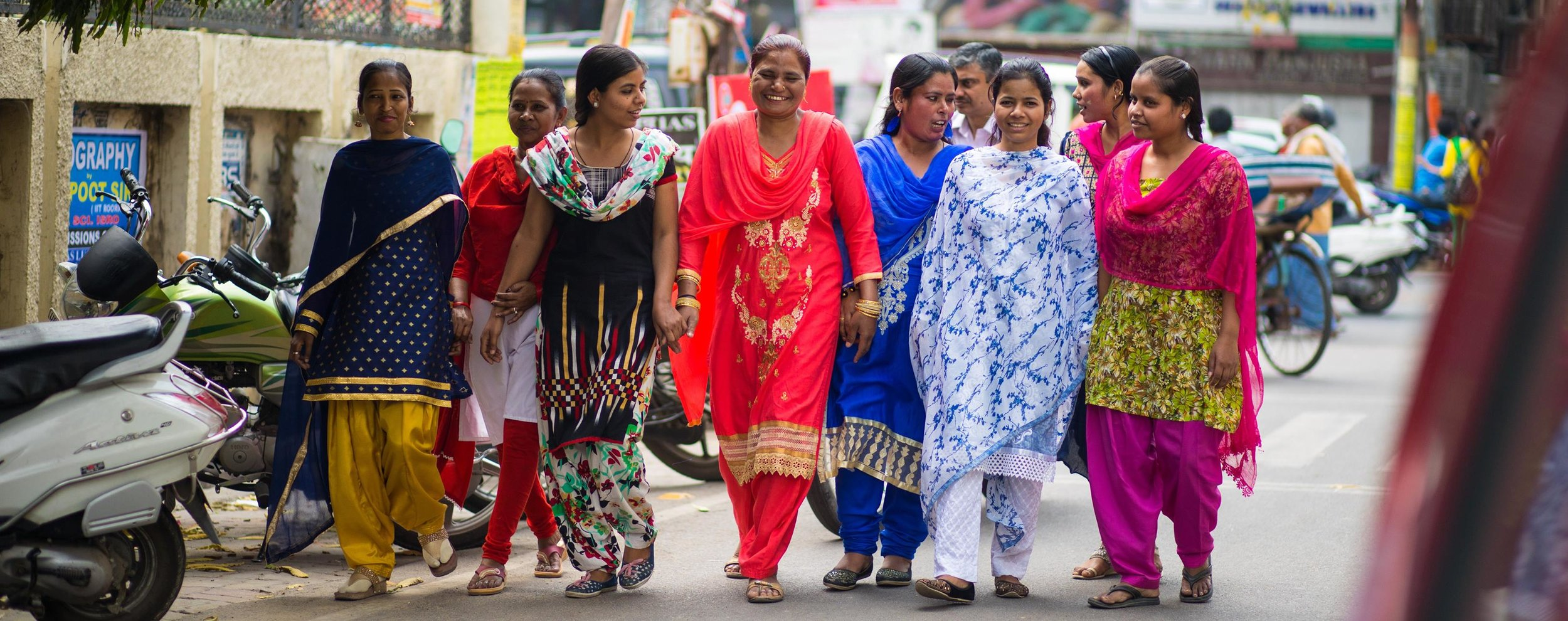 Some of the women being empowered through this social enterprise