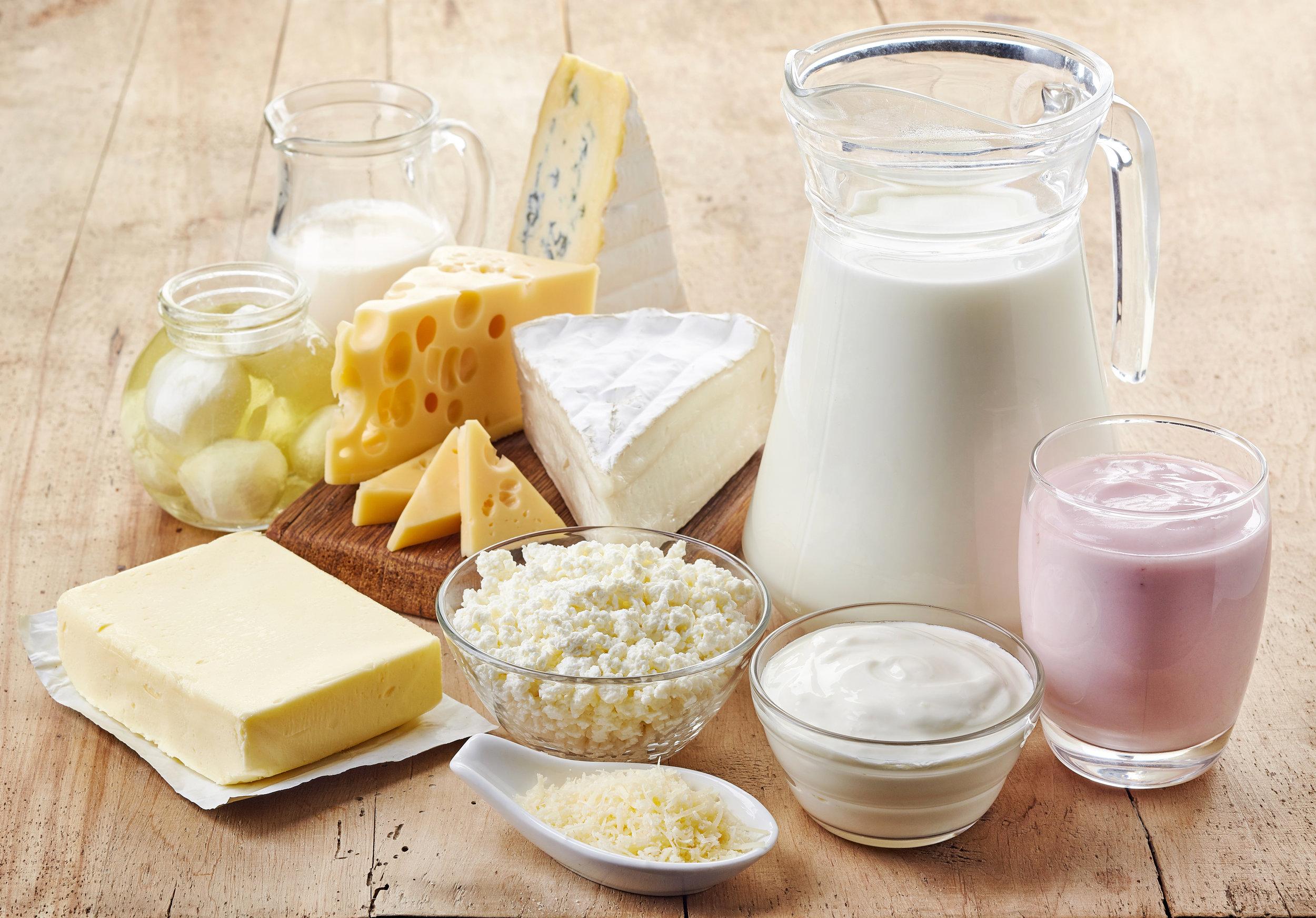 Latte e derivati -